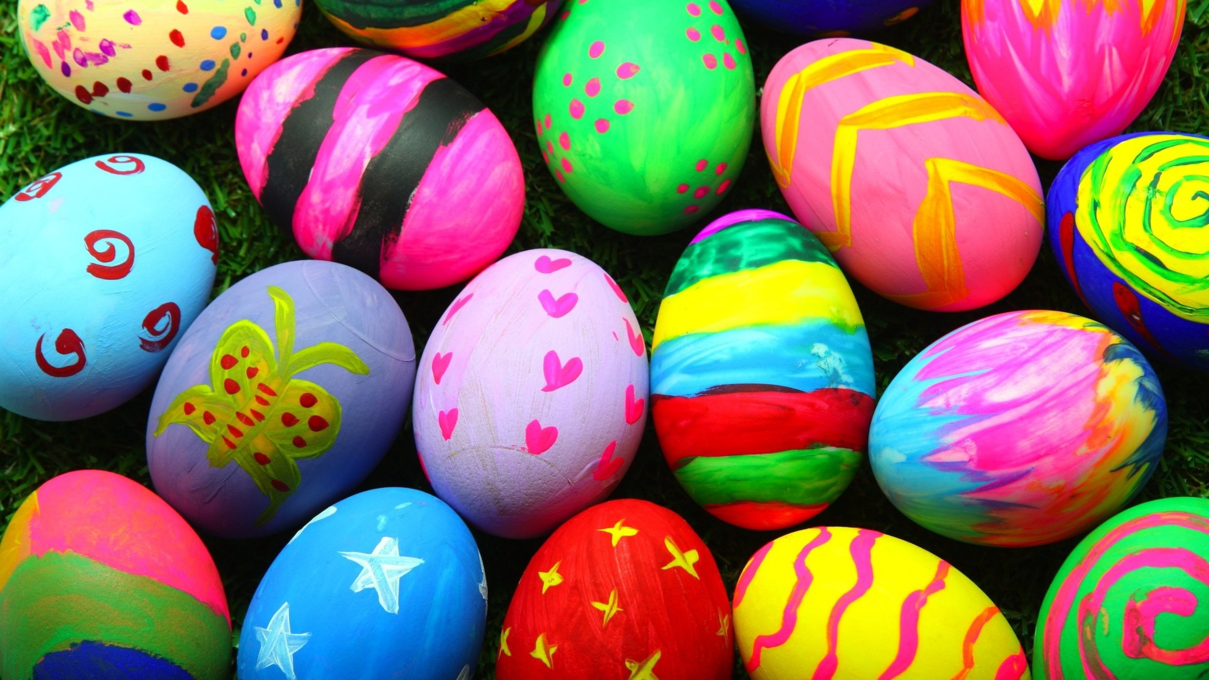 colorful easter eggs 4k 1543946397 - Colorful Easter Eggs 4k - eggs wallpapers, easter wallpapers, colorful wallpapers, celebrations wallpapers