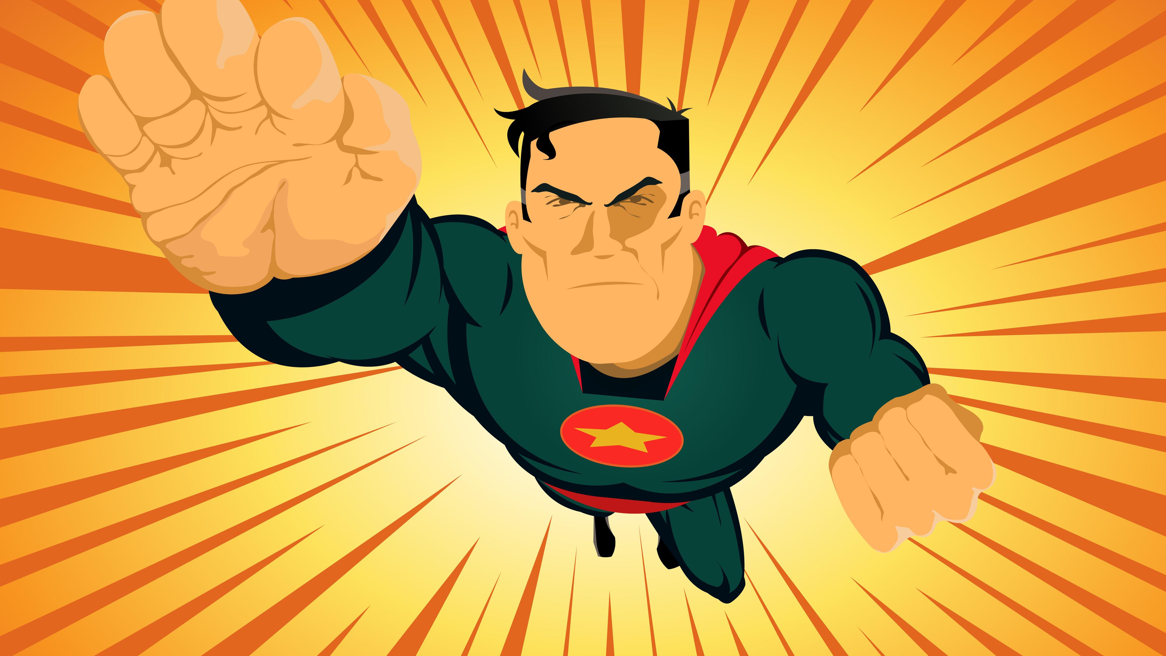 comic superhero 4k 1544286642 - Comic Superhero 4k - superheroes wallpapers, hd-wallpapers, digital art wallpapers, artwork wallpapers, 4k-wallpapers
