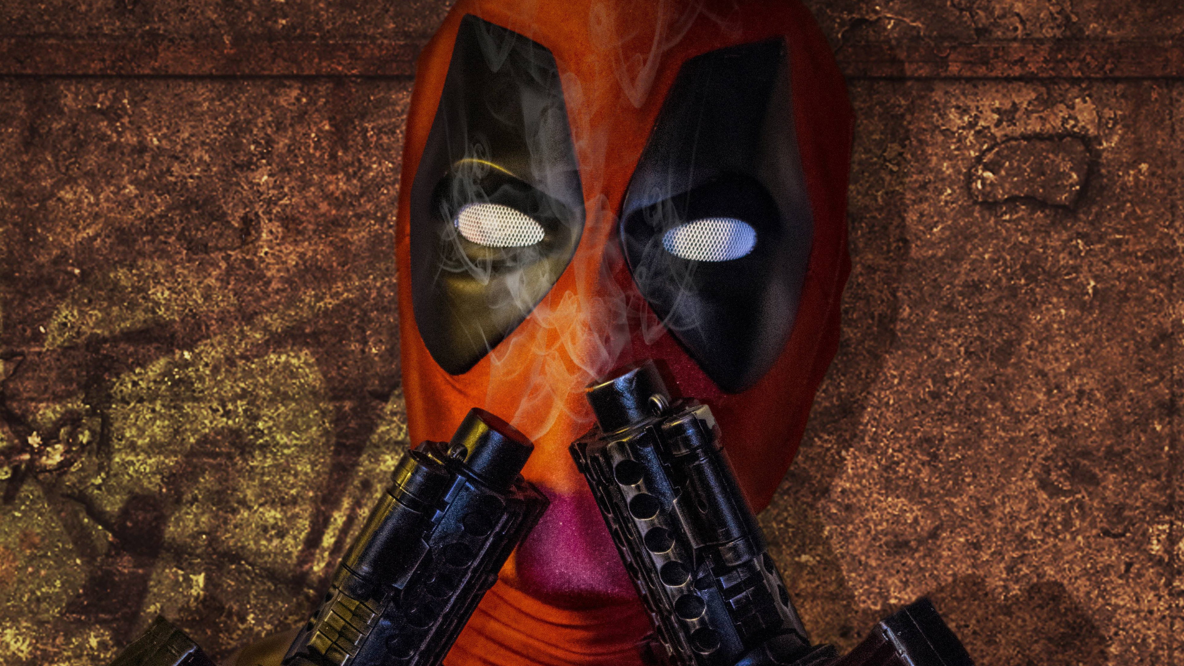 deadpool cosplay 4k 1546276350 - Deadpool Cosplay 4k - superheroes wallpapers, hd-wallpapers, deadpool wallpapers, cosplay wallpapers, 5k wallpapers, 4k-wallpapers