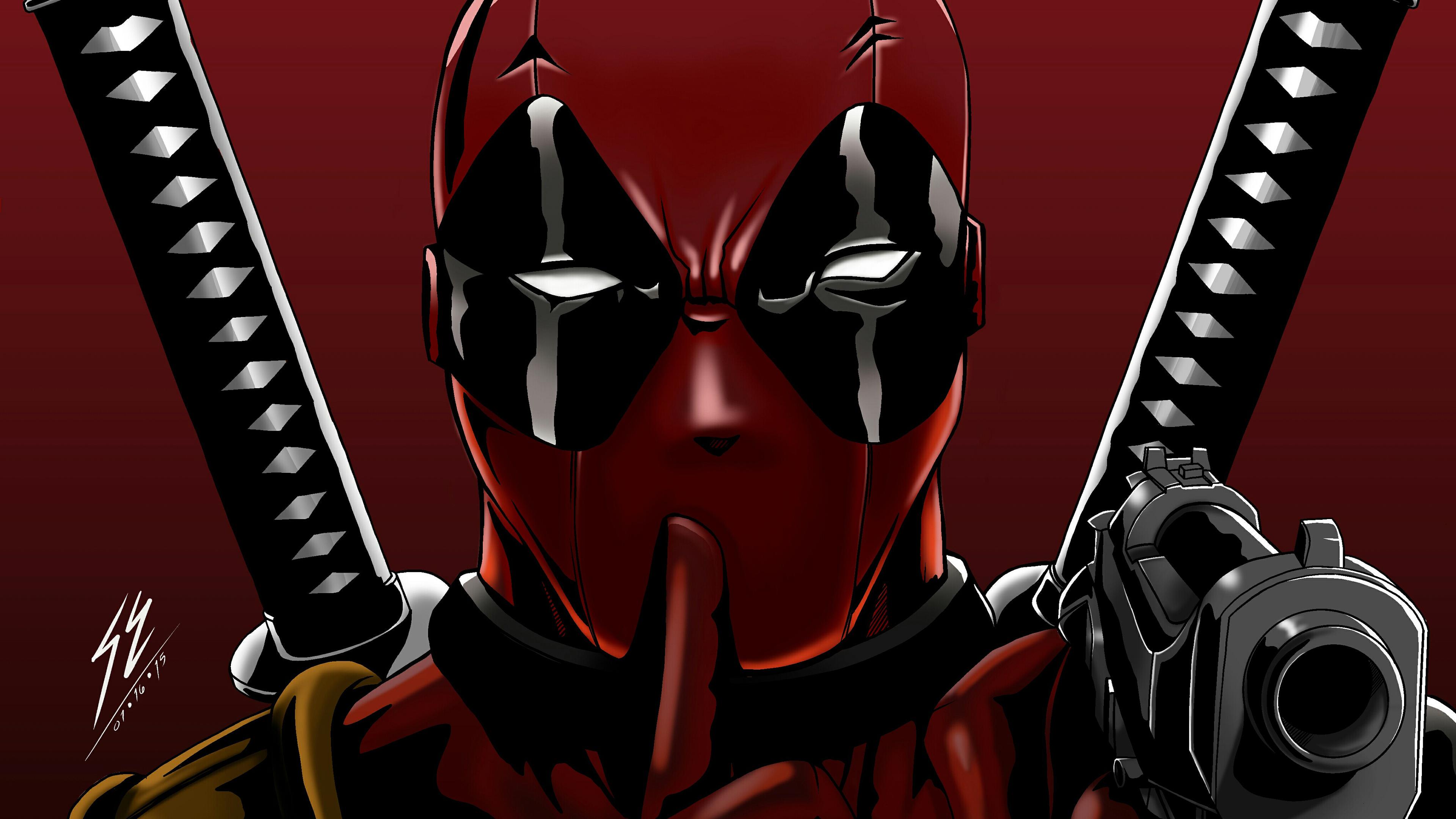 Deadpool Digital Arts 4k superheroes wallpapers, hd ...