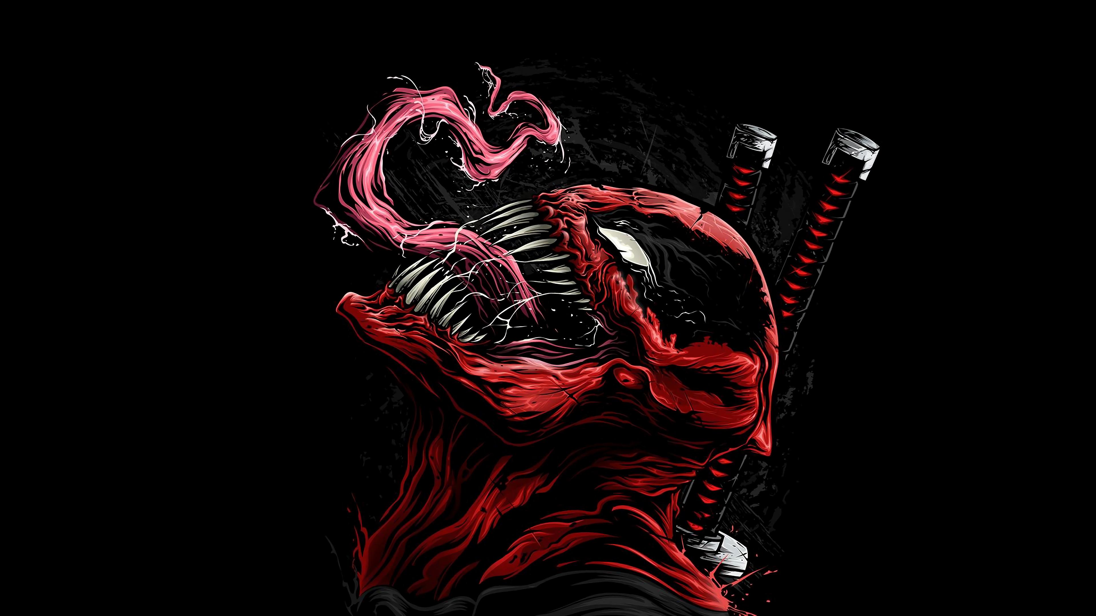 deadpool venom marvel comics 4k wallpaper 1544830303 - Deadpool Venom Marvel Comics 4K Wallpaper - venom, Marvel Comics, Deadpool, Comics