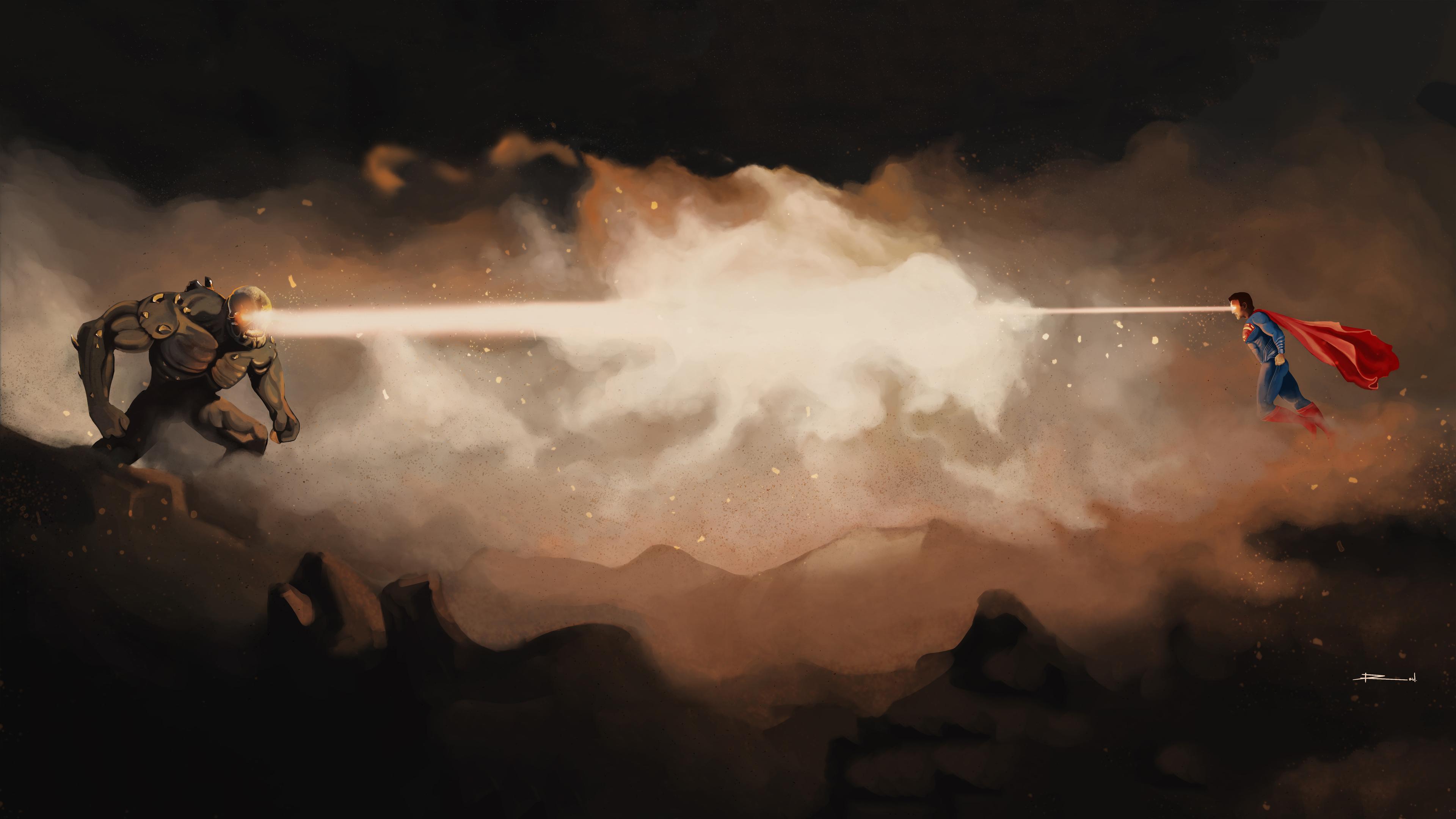 doomsday vs superman 4k 1544923160 - Doomsday Vs Superman 4k - superman wallpapers, superheroes wallpapers, hd-wallpapers, doomsday wallpapers, deviantart wallpapers, artwork wallpapers, 4k-wallpapers