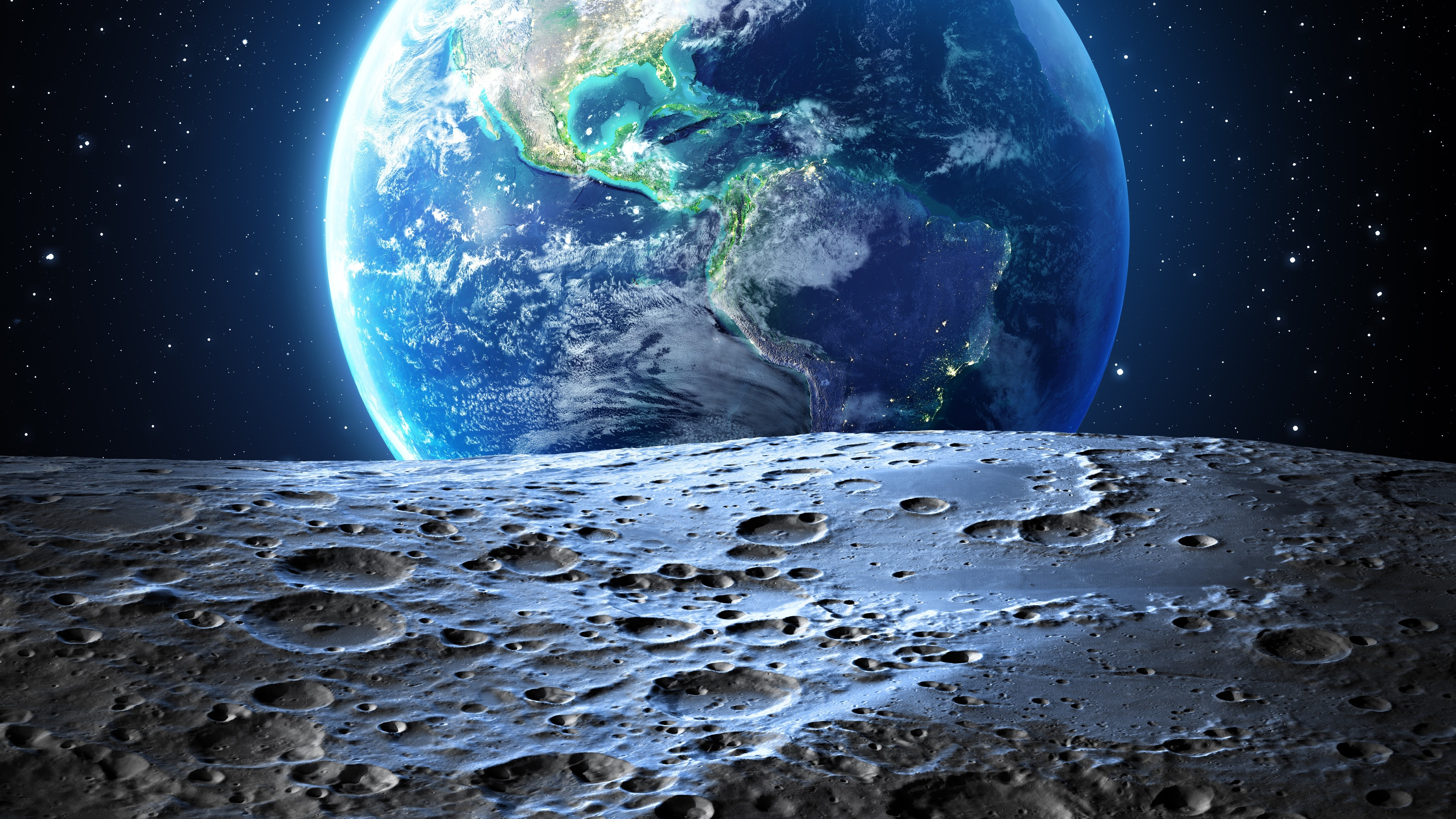 earth moon 4k 1546279097 - Earth Moon 4k - nature wallpapers, moon wallpapers, hd-wallpapers, earth wallpapers, digital universe wallpapers, 4k-wallpapers