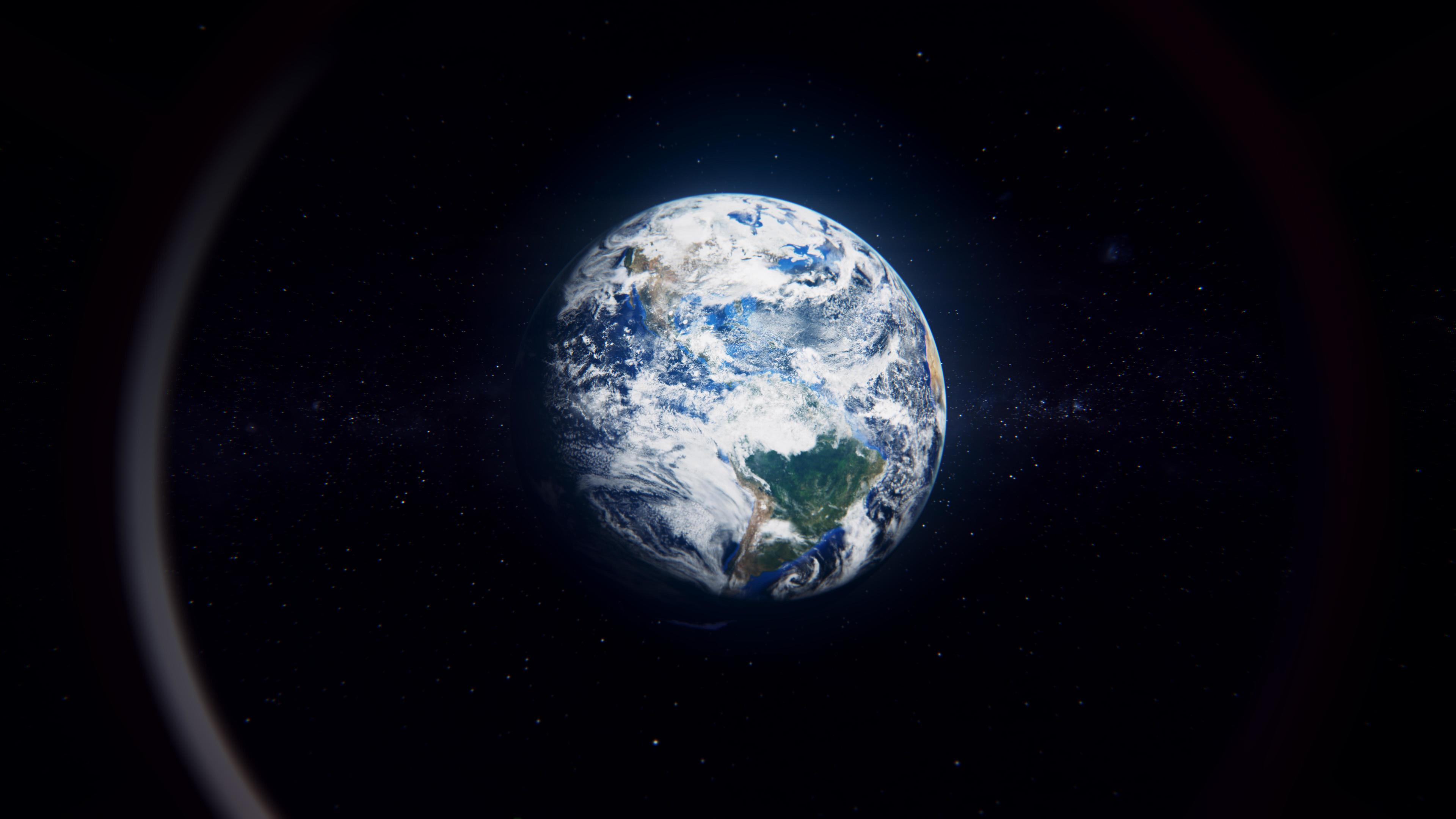 Wallpaper 4k Earth View From Space 4k 4k Wallpapers 5k