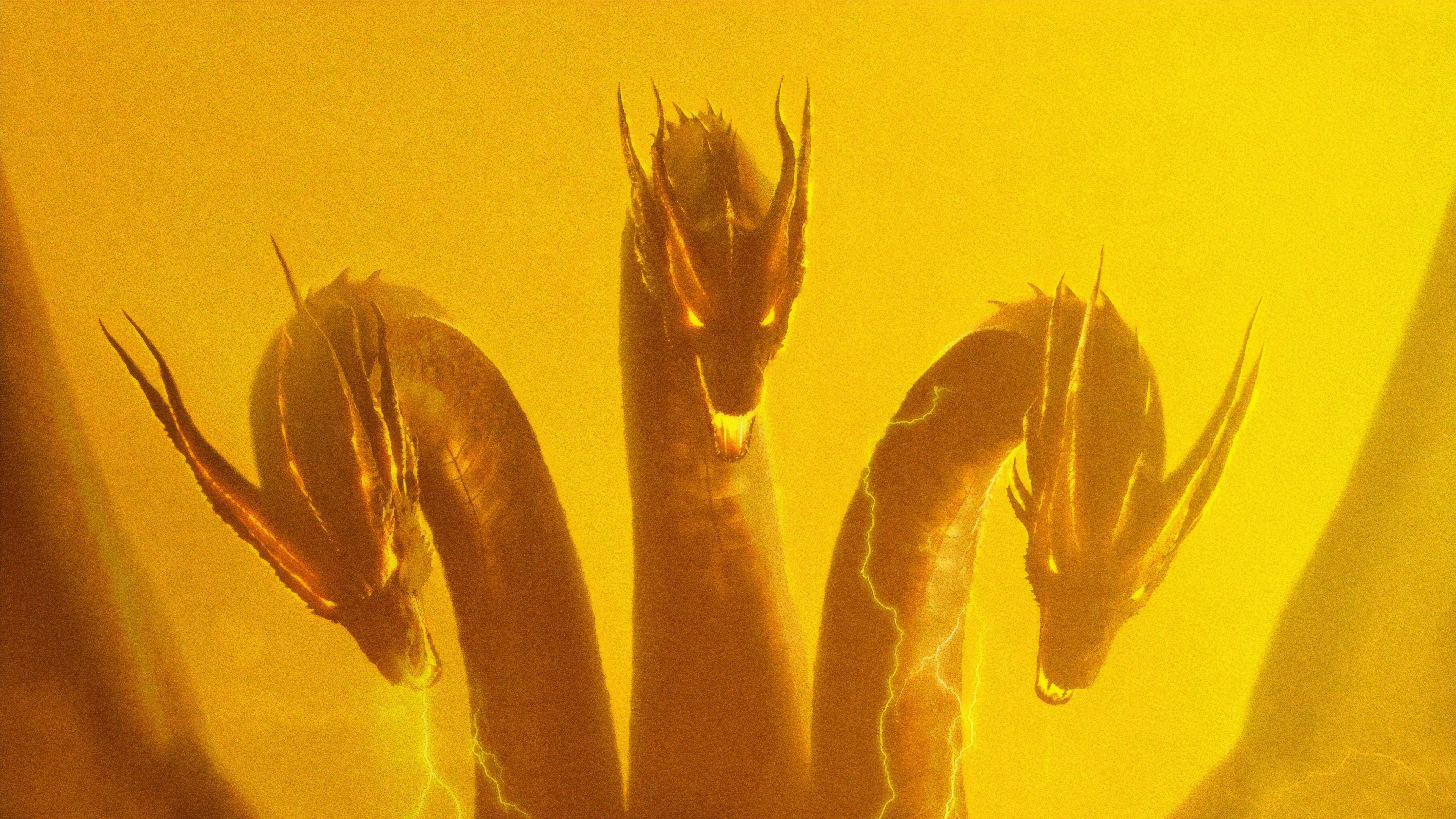 ghidorah godzilla king of the monsters 4k 1545589856 - Ghidorah Godzilla King Of The Monsters 4k - poster wallpapers, movies wallpapers, hd-wallpapers, godzilla king of the monsters wallpapers, 5k wallpapers, 4k-wallpapers, 2019 movies wallpapers