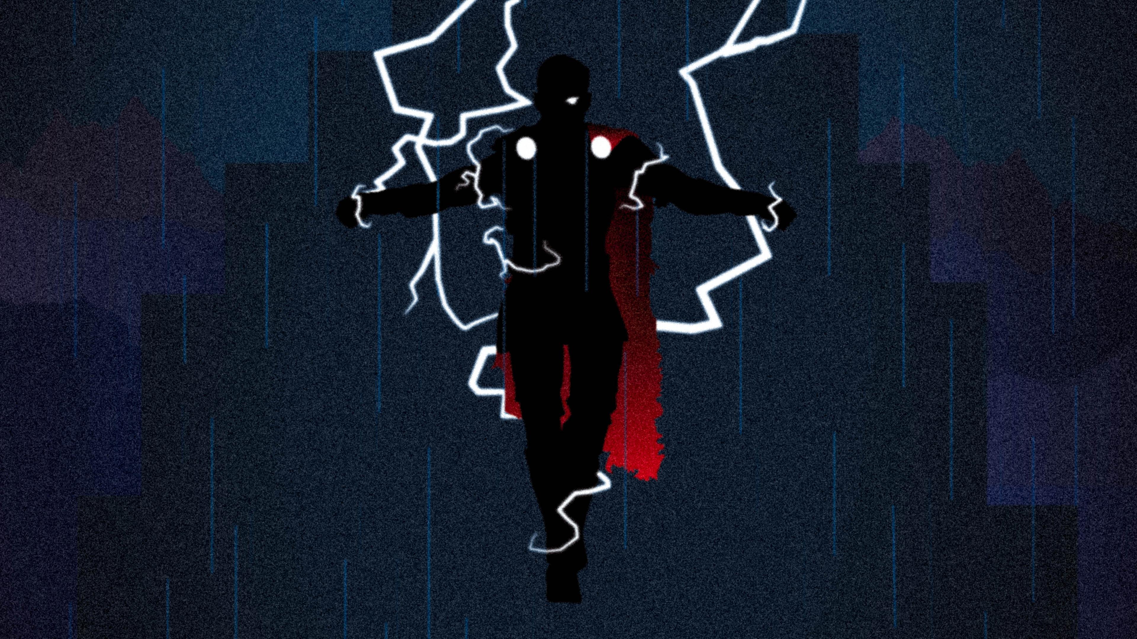 god of thunder thor 4k 1544286911 - God Of Thunder Thor 4K - thor wallpapers, superheroes wallpapers, hd-wallpapers, digital art wallpapers, behance wallpapers, artwork wallpapers, 4k-wallpapers