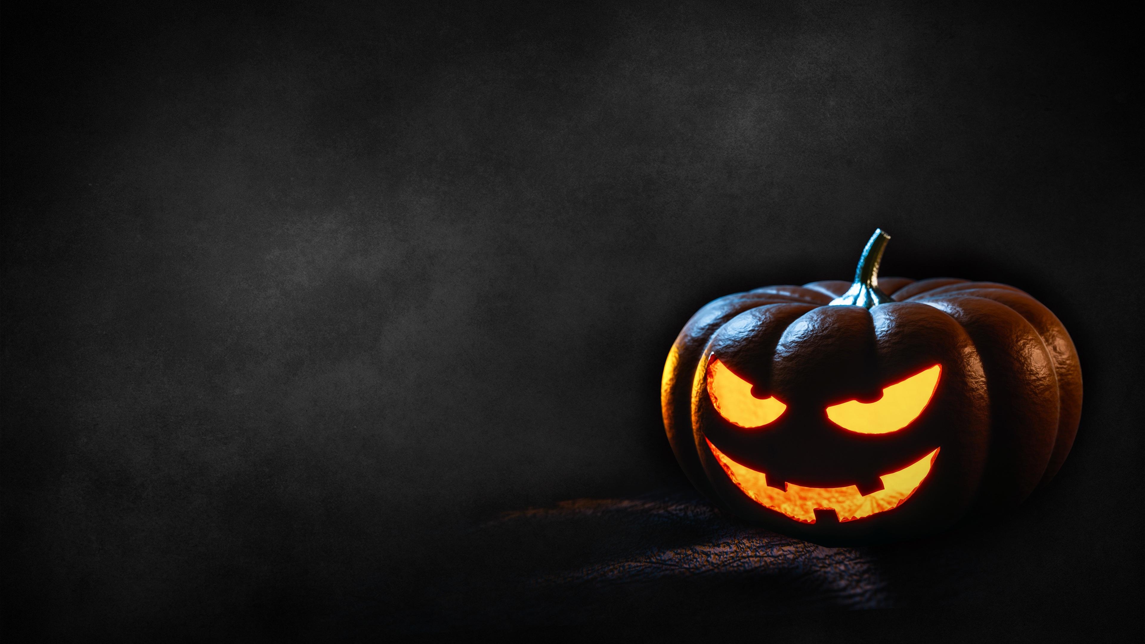 happy halloween pumpkin 4k 1543946382 - Happy Halloween Pumpkin 4k - pumpkin wallpapers, holidays wallpapers, hd-wallpapers, halloween wallpapers, celebrations wallpapers