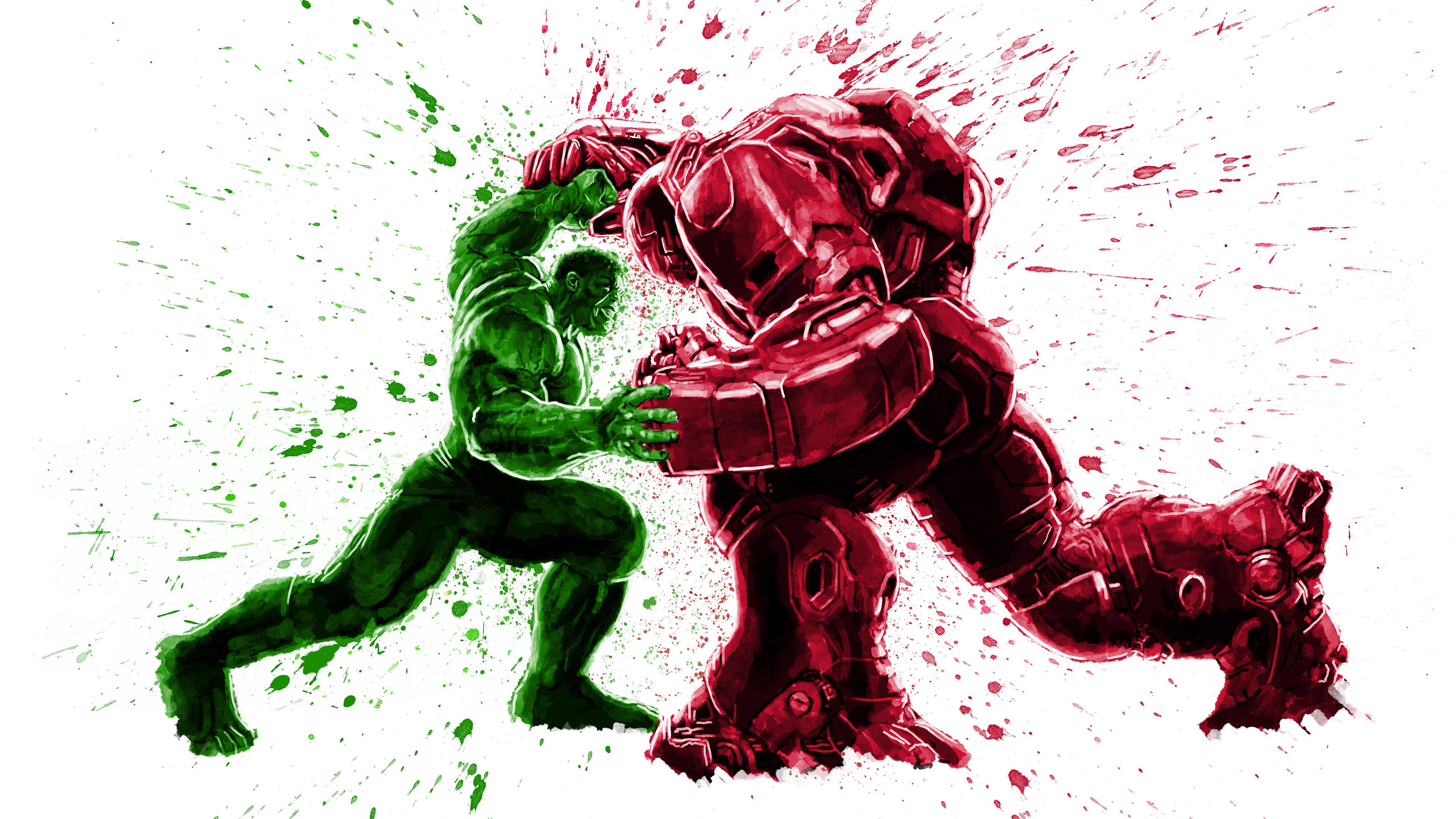 hulk and iron hulkbuster 4k 1544286763 - Hulk And Iron Hulkbuster 4k - superheroes wallpapers, hulkbuster wallpapers, hulk wallpapers, hd-wallpapers, digital art wallpapers, behance wallpapers, artwork wallpapers, 4k-wallpapers