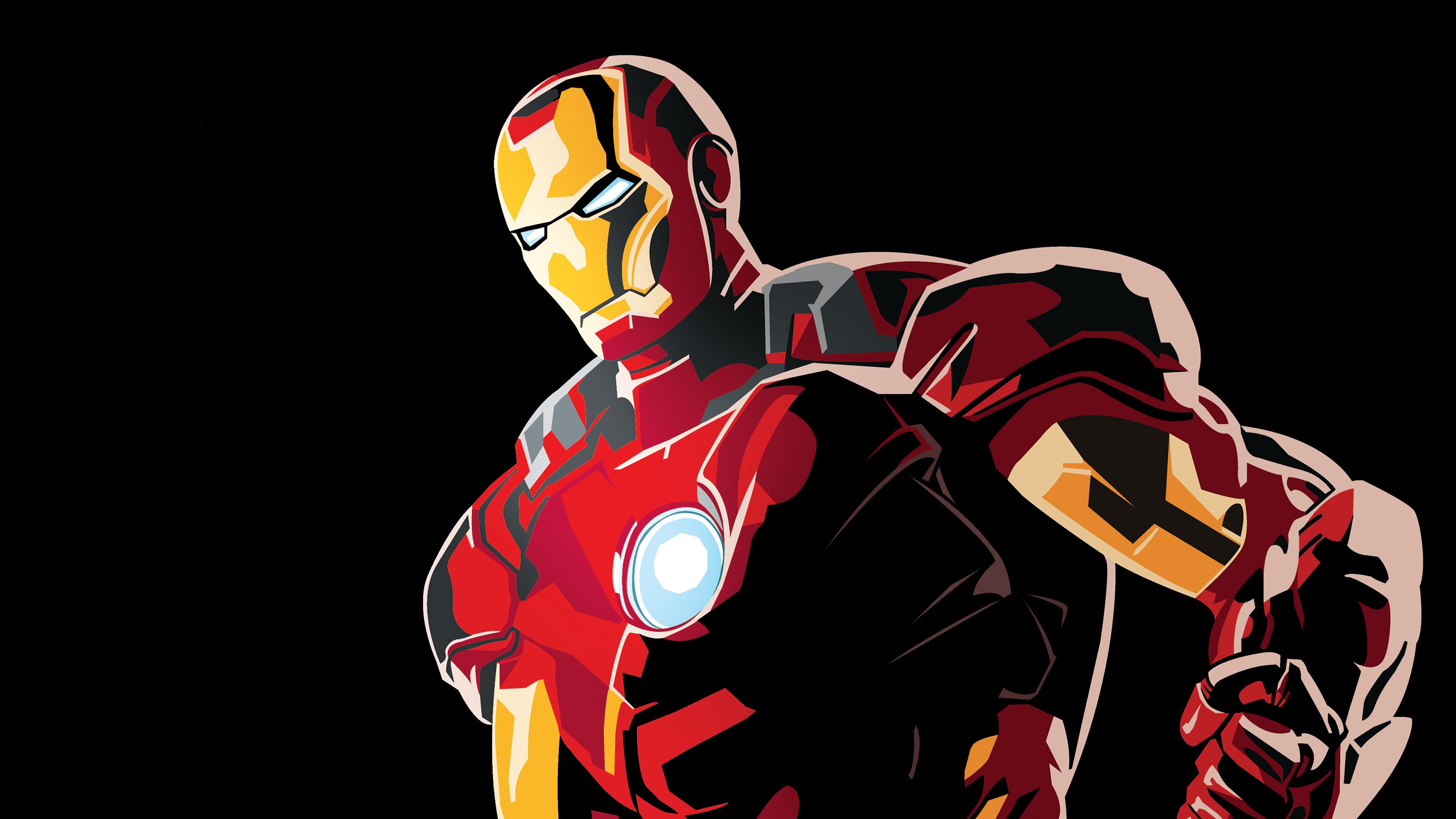 Wallpaper 4k Iron Man Graphic Design 4k Art 4k Wallpapers Artwork