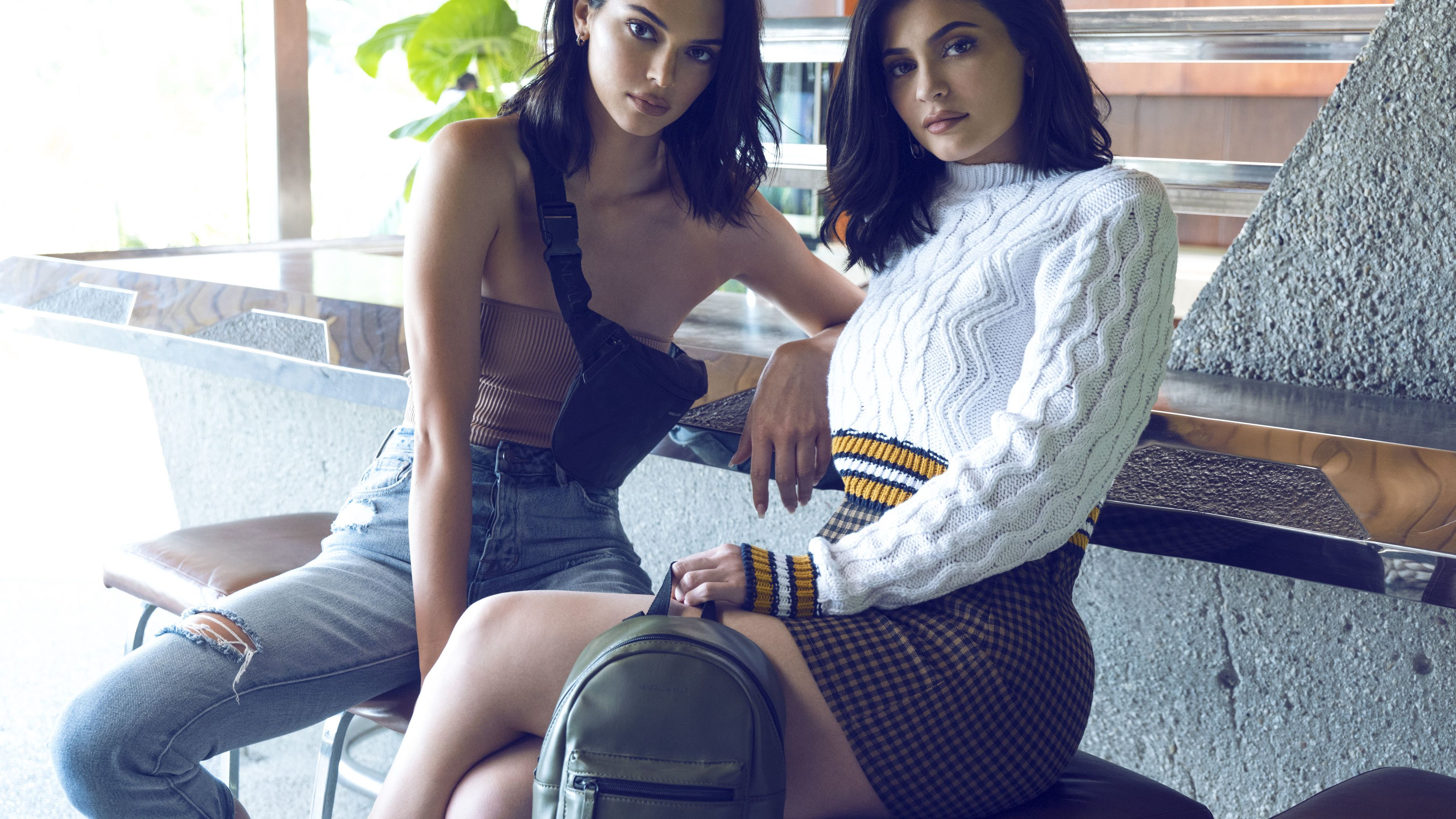 kendall and kylie fall collection 2019 4k 1546277083 - Kendall And Kylie Fall Collection 2019 4k - kylie jenner wallpapers, kendall jenner wallpapers, hd-wallpapers, girls wallpapers, celebrities wallpapers, 4k-wallpapers