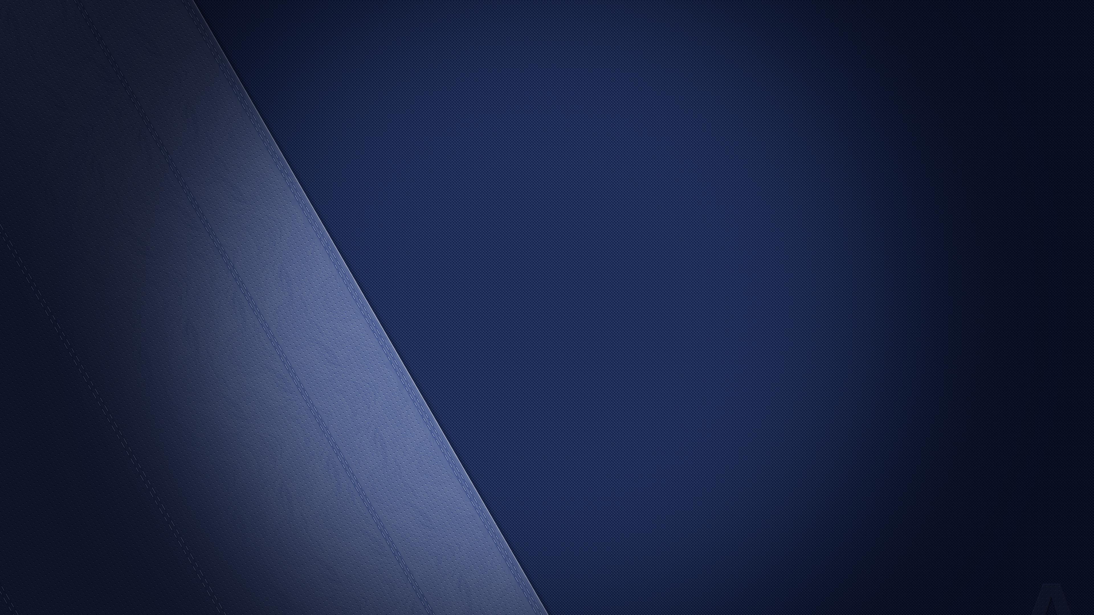 Leather Texture Blue 4k