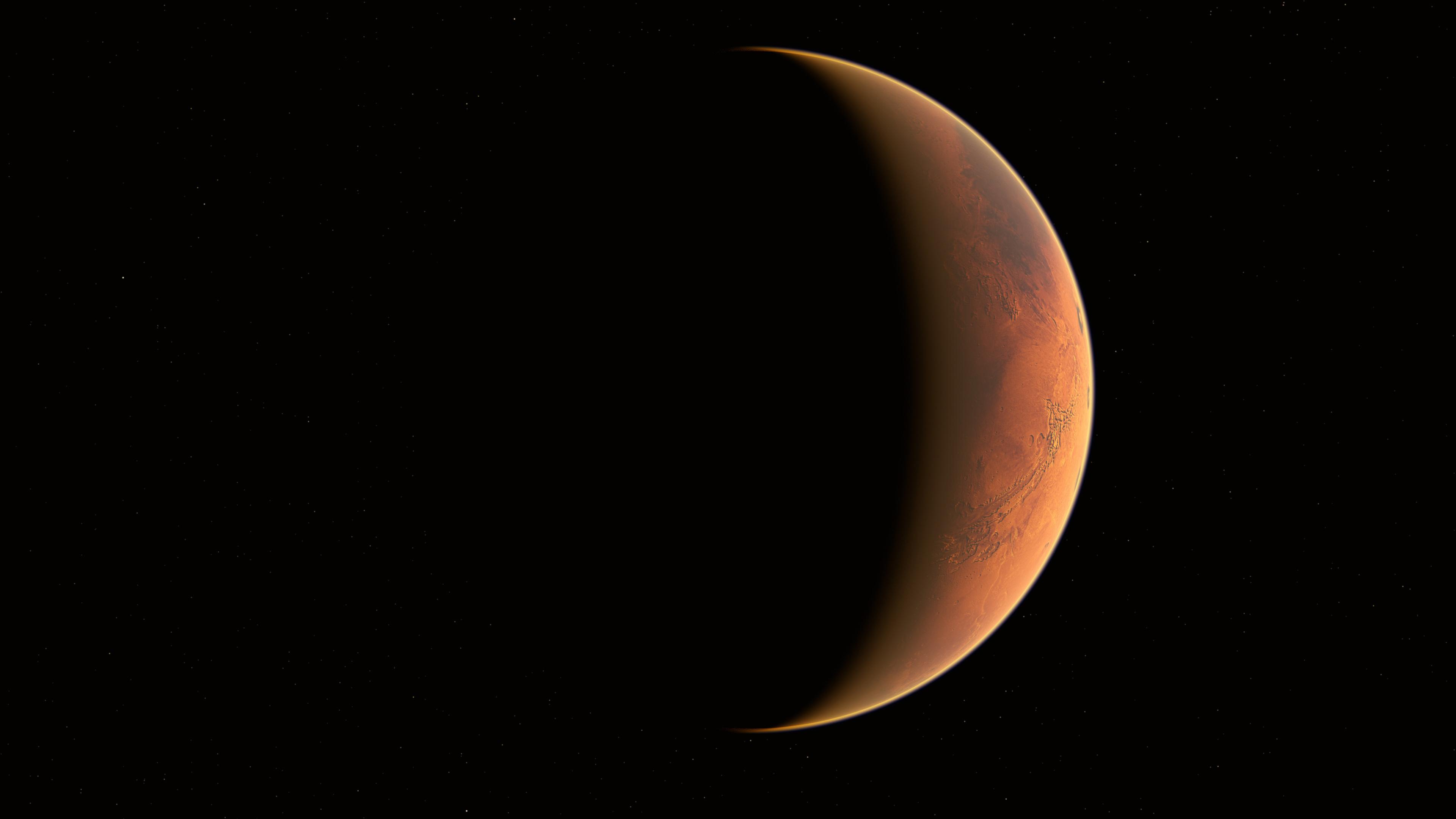 mars lightwave 4k 1546278903 - Mars Lightwave 4k - planet wallpapers, mars wallpapers, hd-wallpapers, digital universe wallpapers, deviantart wallpapers, 4k-wallpapers
