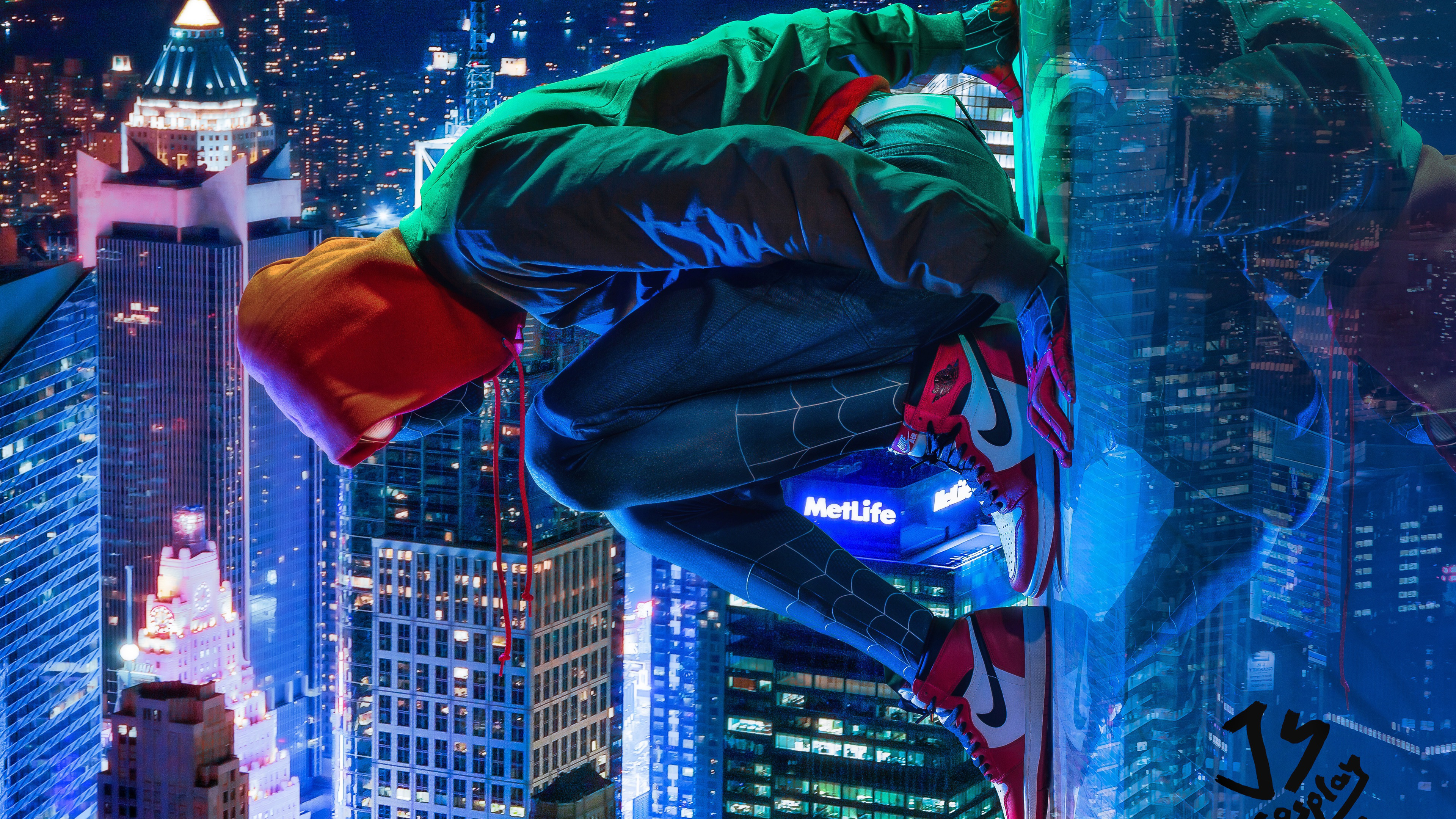 miles morales spiderman cosplay 4k 1544923180 - Miles Morales Spiderman Cosplay 4k - superheroes wallpapers, spiderman into the spider verse wallpapers, hd-wallpapers, digital art wallpapers, cosplay wallpapers, behance wallpapers, artwork wallpapers, artist wallpapers, 4k-wallpapers