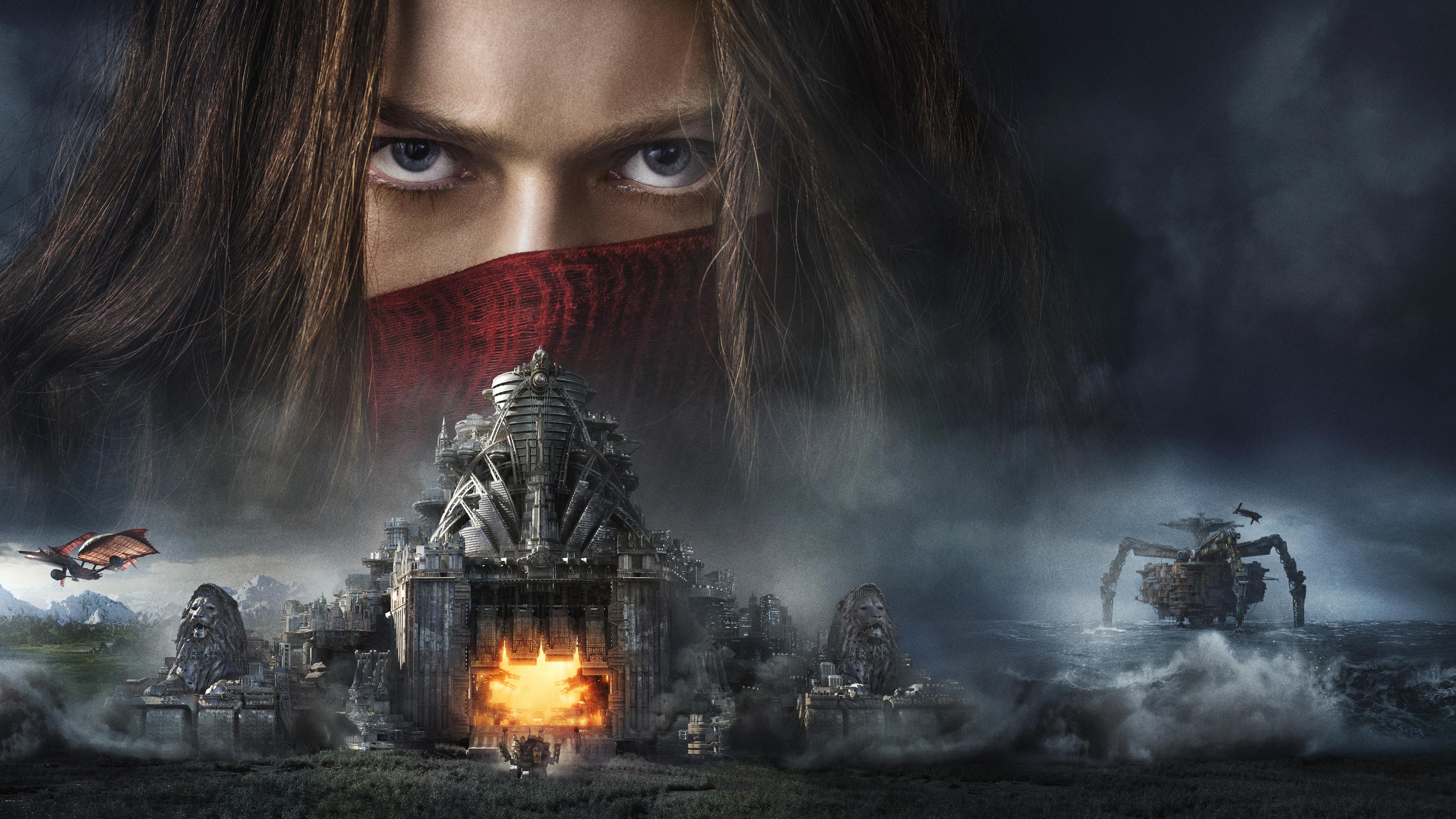Wallpaper 4k Mortal Engines Movie 4k 2018 Movies Wallpapers