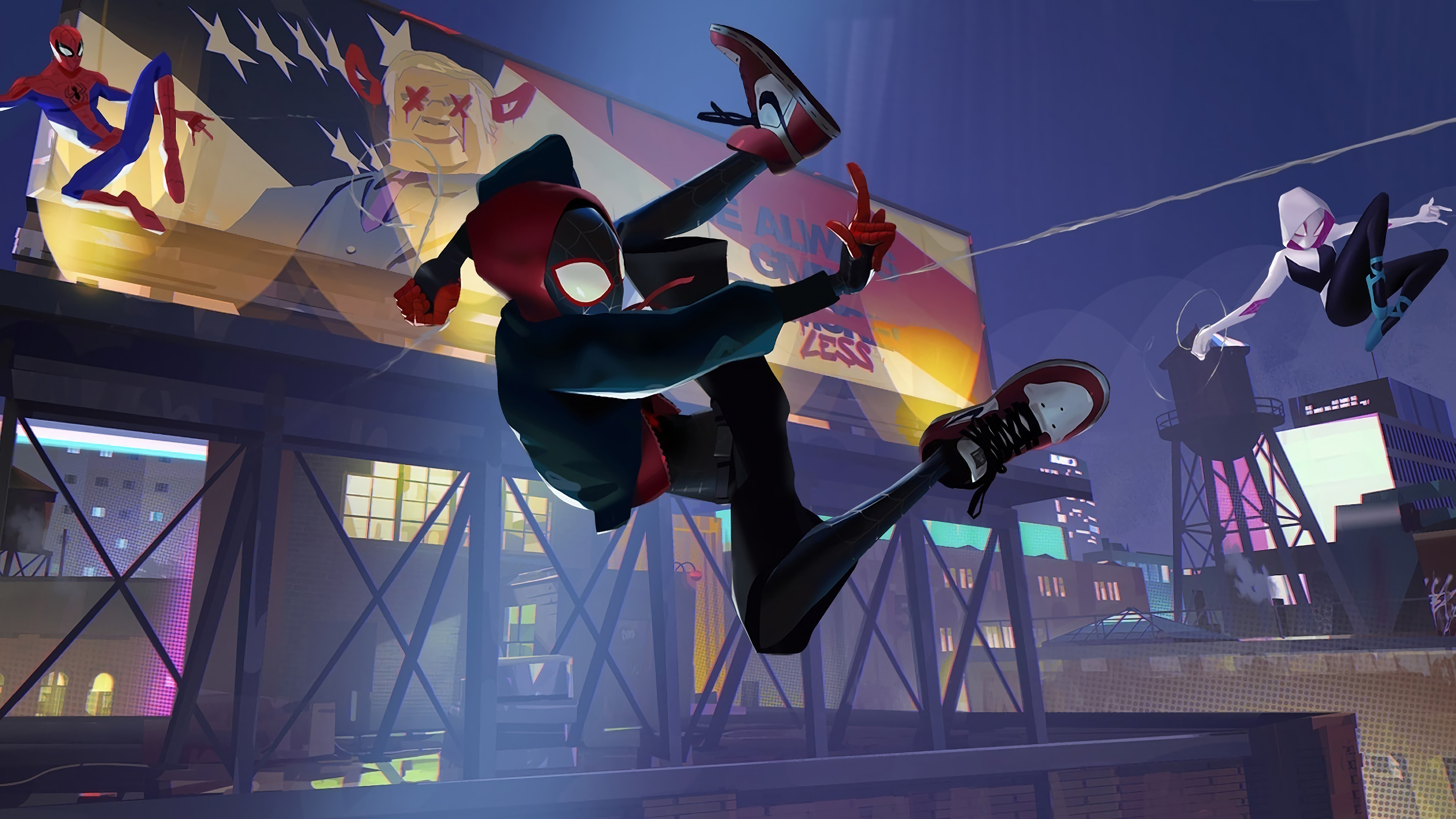 peter parker spiderman into the spider verse 4k 1545589854 - Peter Parker Spiderman Into The Spider Verse 4k - spiderman wallpapers, spiderman into the spider verse wallpapers, movies wallpapers, hd-wallpapers, animated movies wallpapers, 4k-wallpapers, 2018-movies-wallpapers