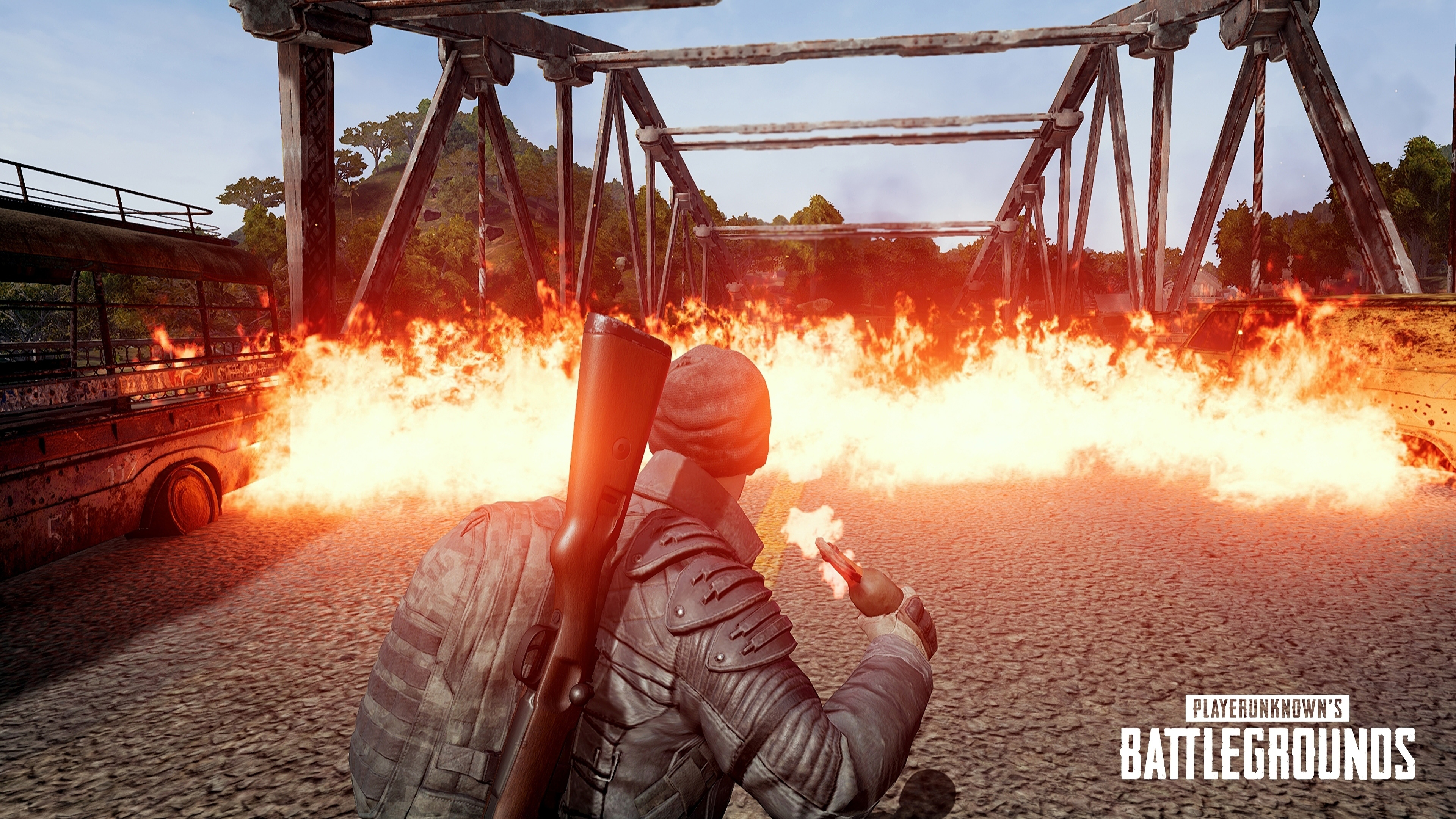PUBG Molotov Cocktail PlayerUnknownu0027s Battlegrounds 4K Wallpaper