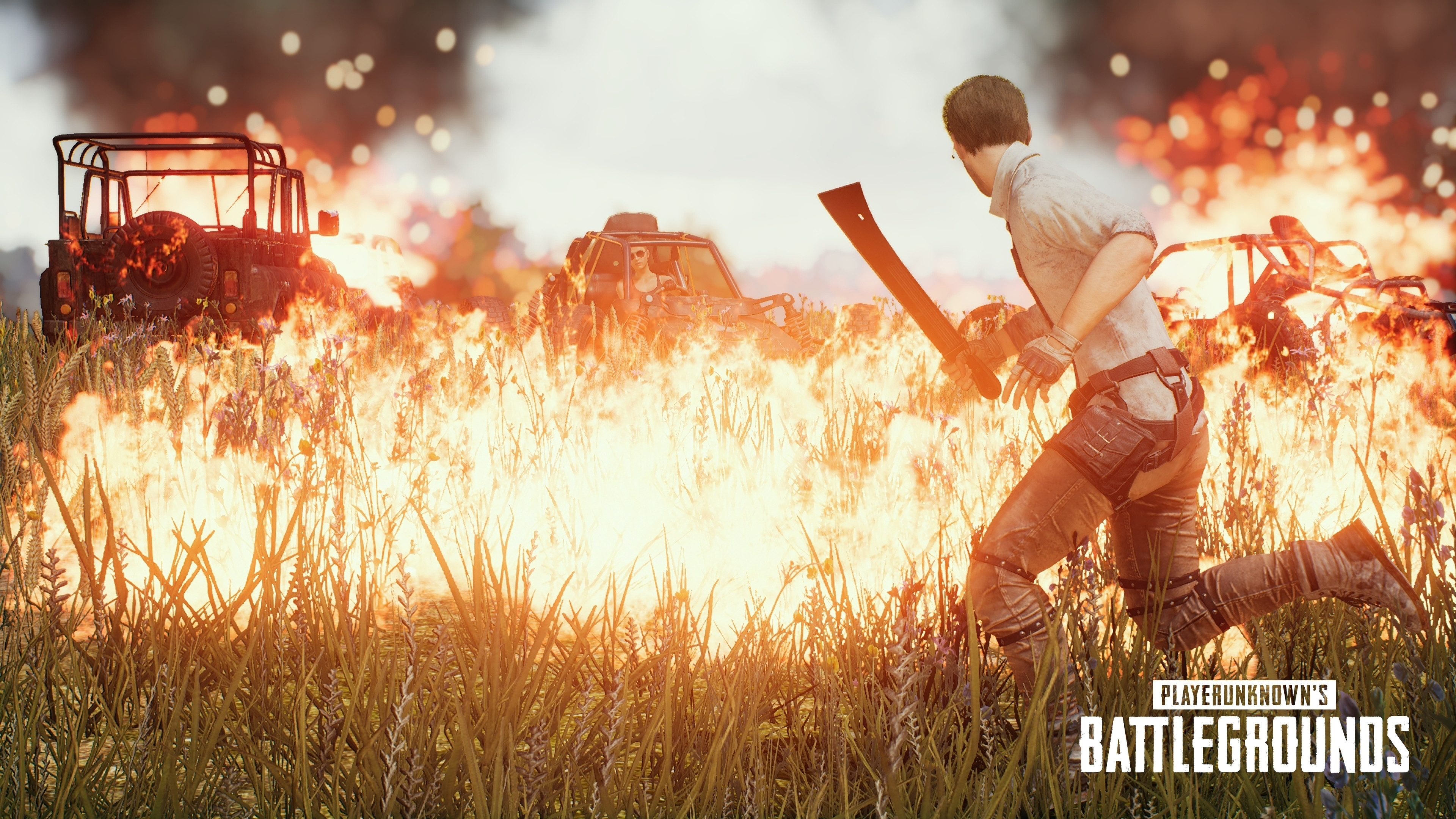 Pubg Christmas Wallpaper: PUBG PlayerUnknown's Battlegrounds 4K Wallpaper