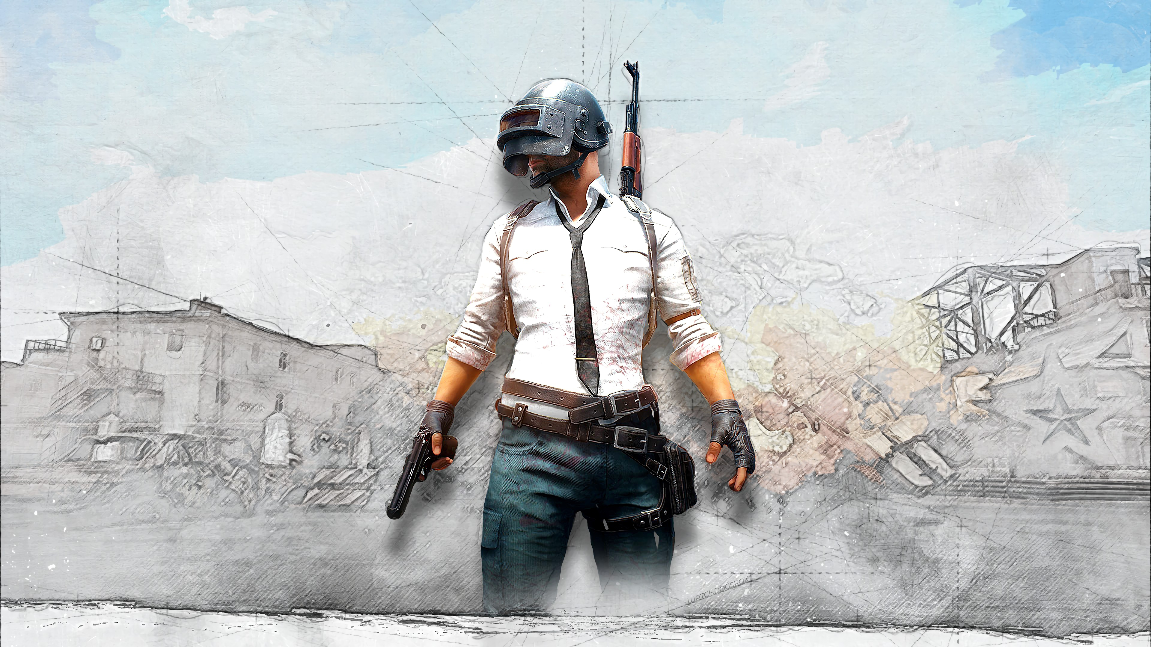 Pubg Christmas Wallpaper: PUBG PlayerUnknown's Battlegrounds Game 4K Wallpaper