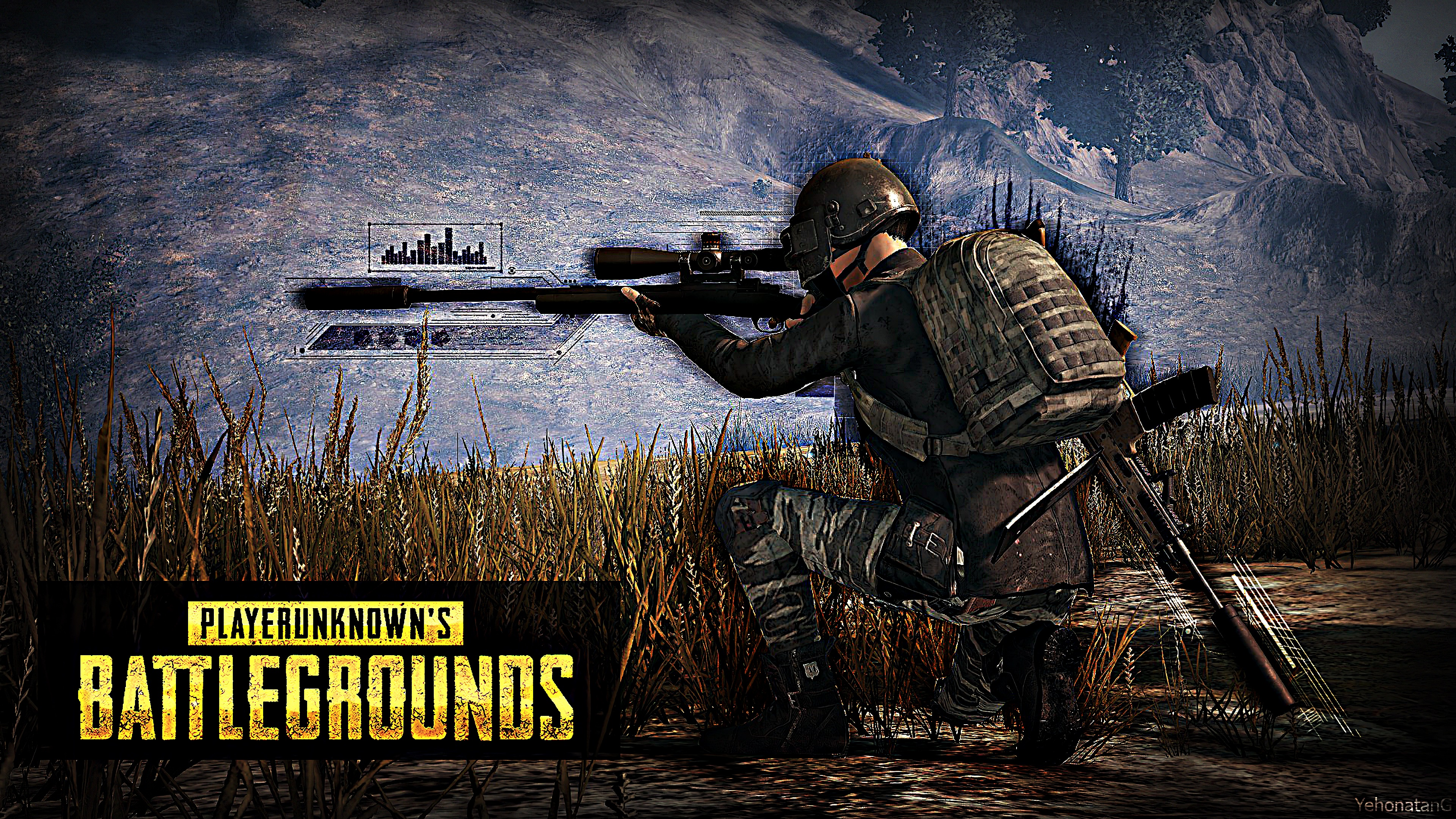 pubg playerunknown s battlegrounds sniper 4k wallpaper 1544828177 - PUBG PlayerUnknown's Battlegrounds Sniper 4K Wallpaper - PlayerUnknown's Battlegrounds (PUBG) 4k wallpapers