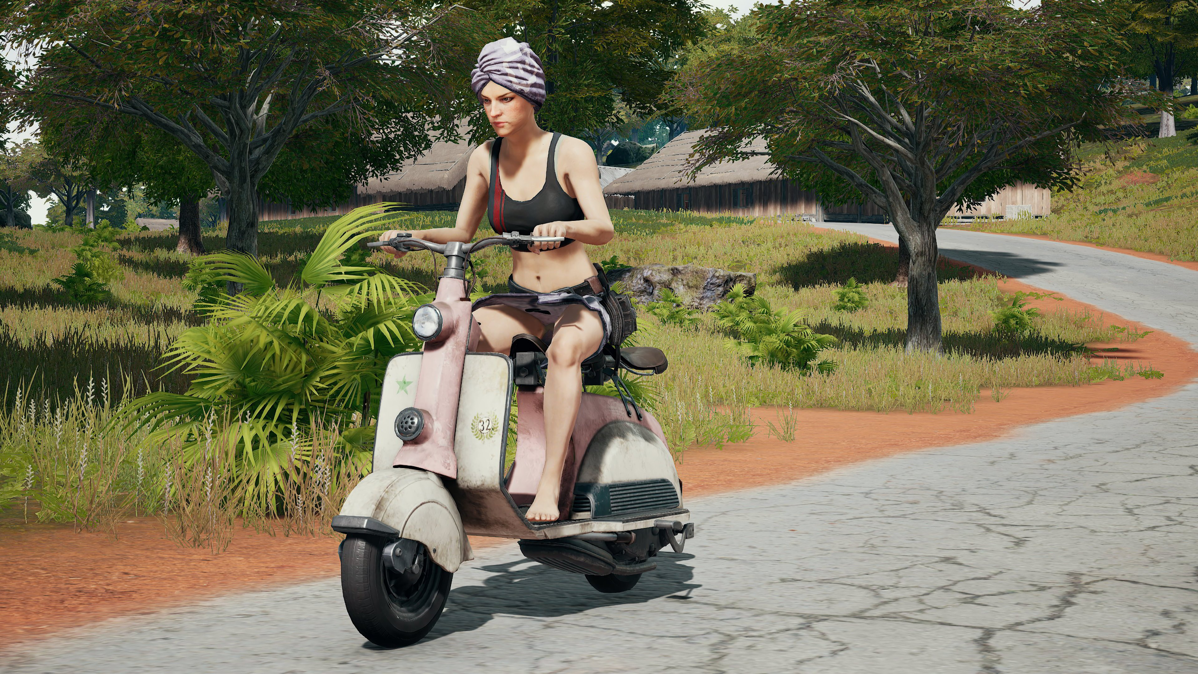 pubg scooter playerunknown s battlegrounds 4k wallpaper 1544827544 - PUBG Scooter PlayerUnknown's  Battlegrounds 4K Wallpaper - PlayerUnknown's Battlegrounds (PUBG) 4k wallpapers