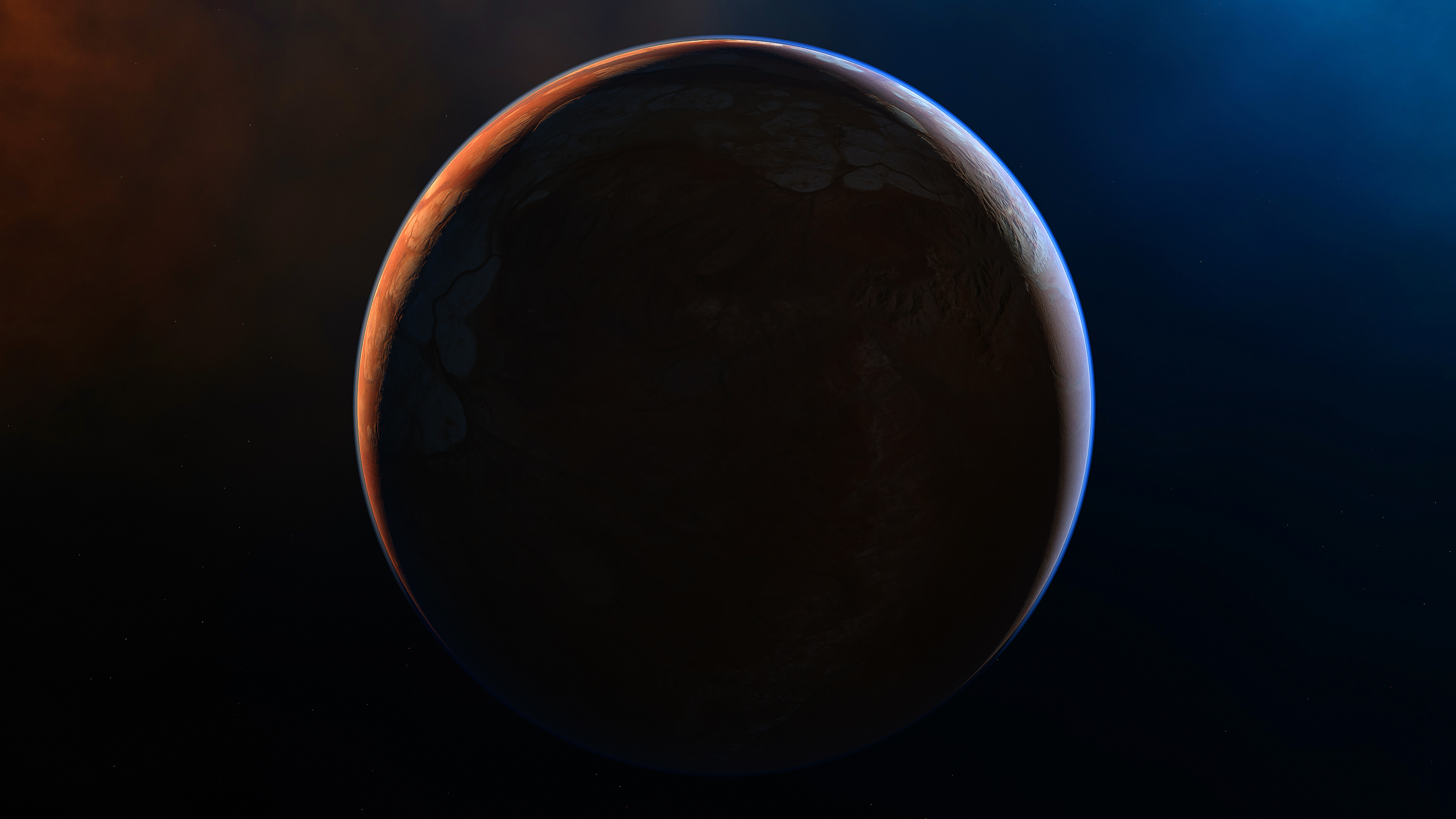 scifi space planet 4k 1546279216 - Scifi Space Planet 4k - planet wallpapers, hd-wallpapers, digital universe wallpapers, deviantart wallpapers, 4k-wallpapers