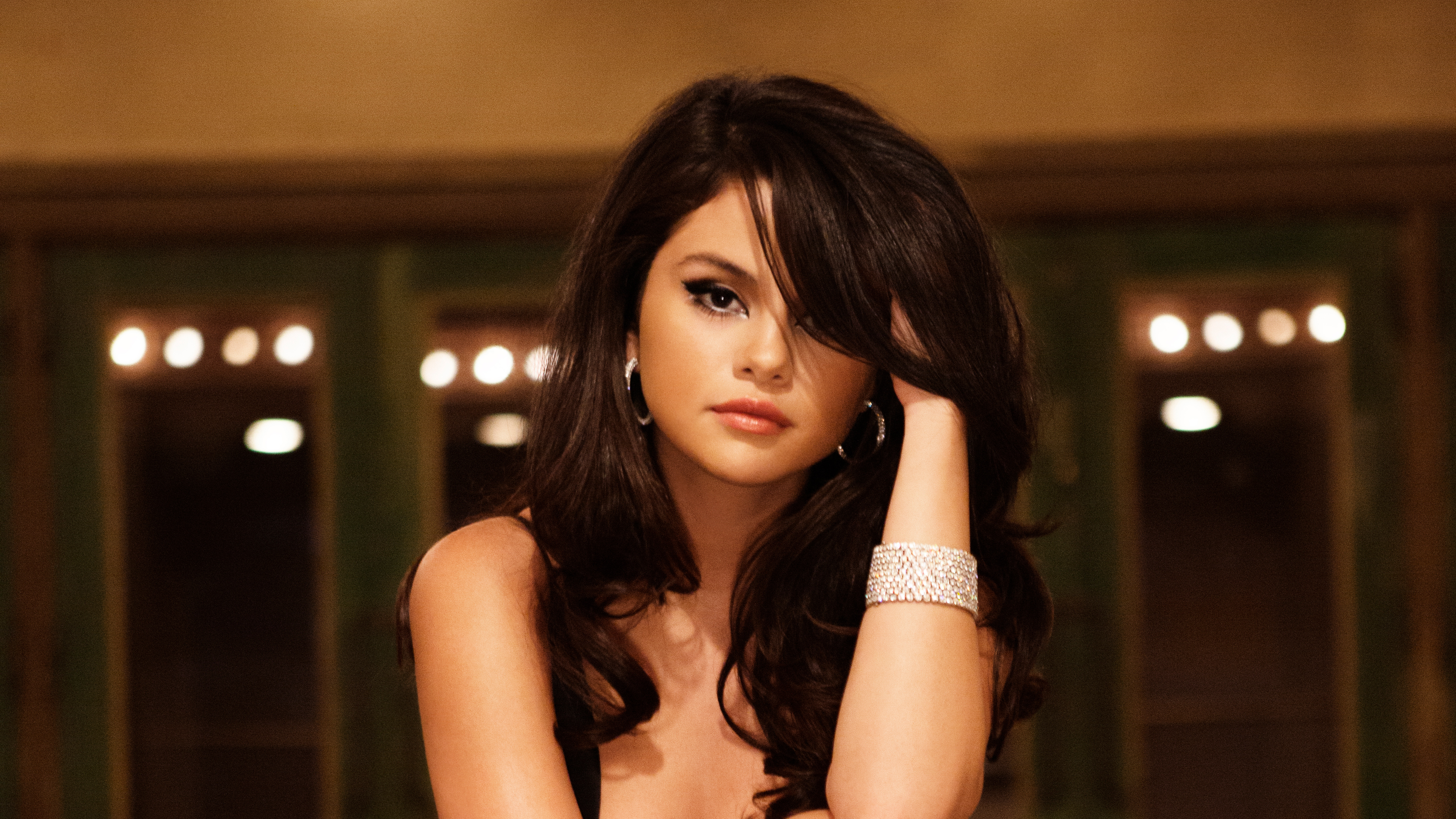 selena gomez 4k new 1546277077 - Selena Gomez 4K New - selena gomez wallpapers, music wallpapers, hd-wallpapers, girls wallpapers, celebrities wallpapers, 4k-wallpapers