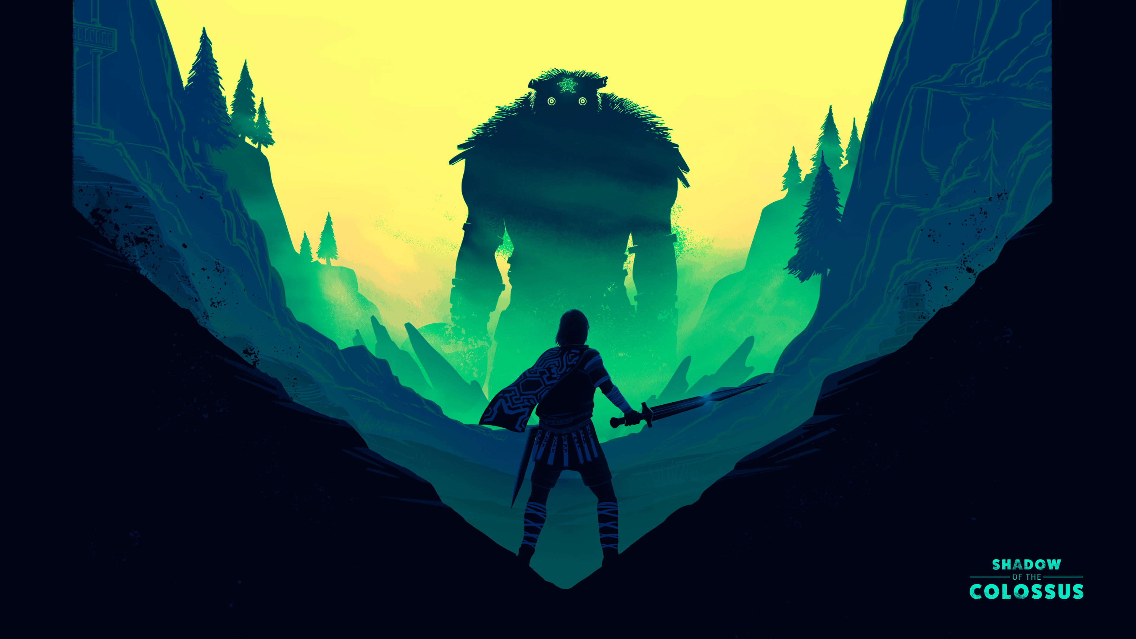 shadow of the colossus fan art illustration 4k 1545589464 - Shadow Of The Colossus Fan Art Illustration 4k - shadow of the colossus wallpapers, ps games wallpapers, hd-wallpapers, games wallpapers, behance wallpapers, 4k-wallpapers