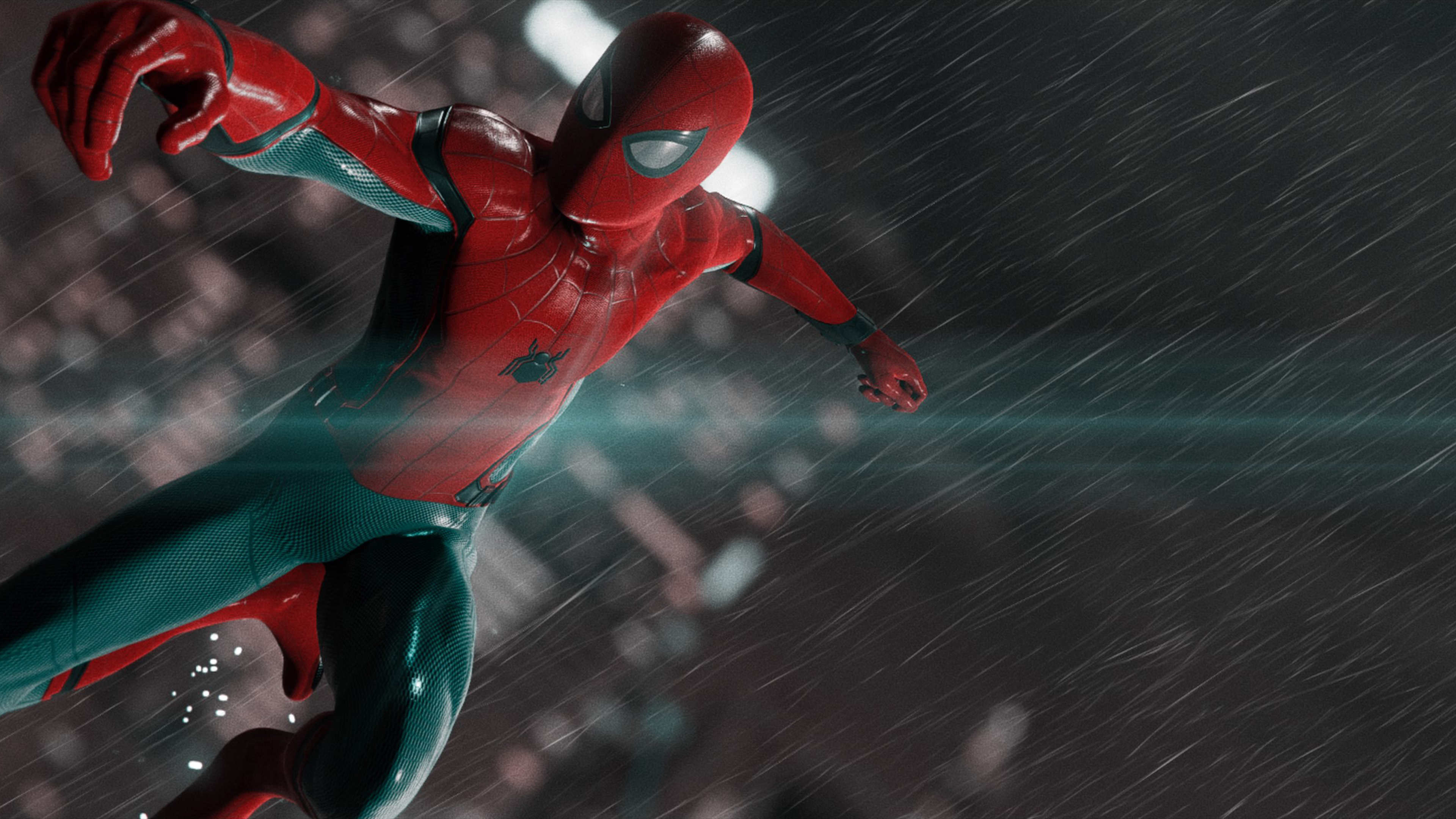 Wallpaper 4k Spiderman In The Rain 4k 4k Wallpapers Hd Wallpapers Reddit Wallpapers Spiderman Wallpapers Superheroes Wallpapers