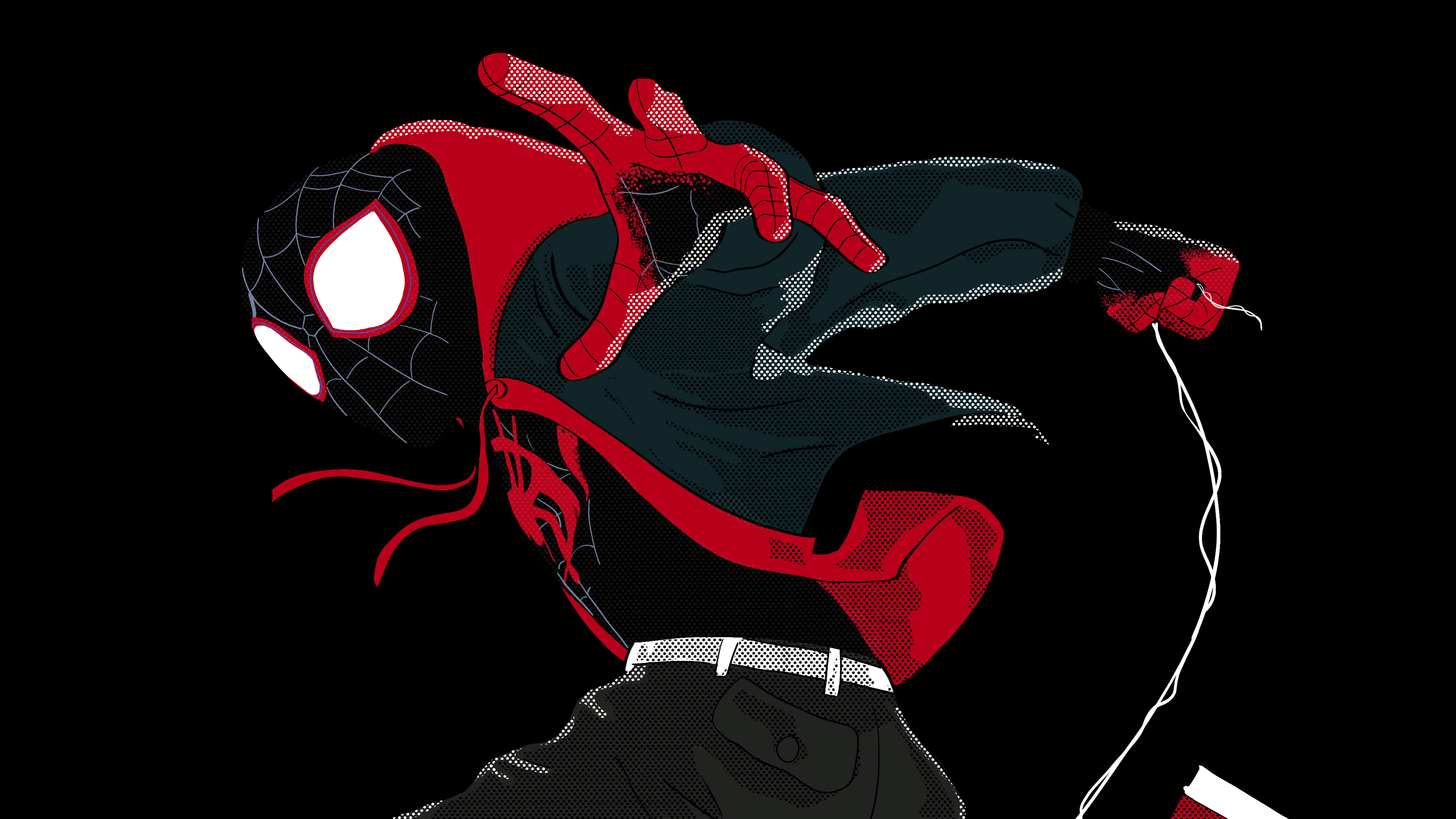 spiderman into the spider verse graphic design 4k 1545588498 - SpiderMan Into The Spider Verse Graphic Design 4k - superheroes wallpapers, spiderman into the spider verse wallpapers, hd-wallpapers, digital art wallpapers, behance wallpapers, artwork wallpapers, artist wallpapers, 4k-wallpapers