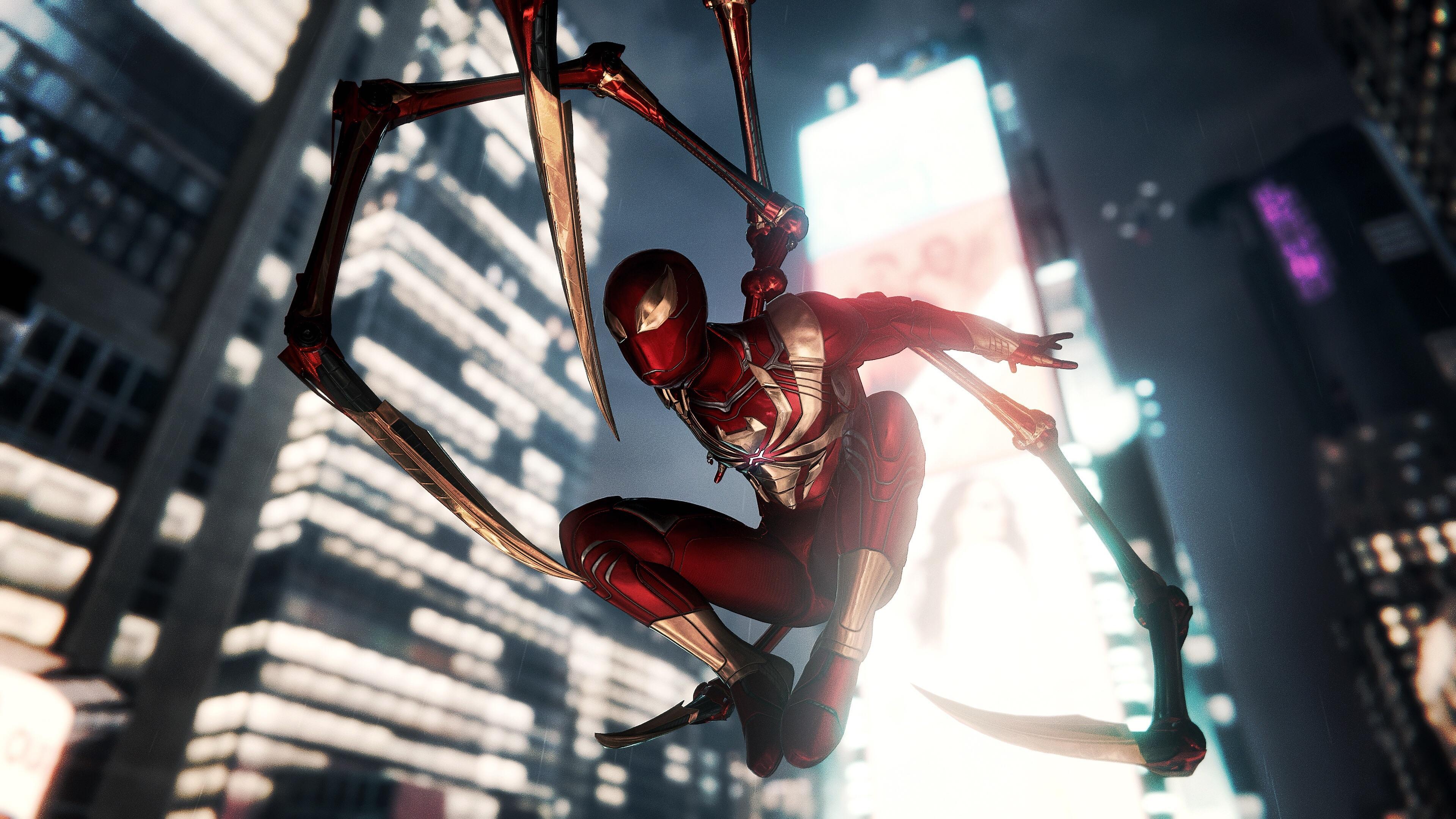 Wallpaper 4k Spiderman Suit Ps4 2018 games wallpapers, 4k-wallpapers