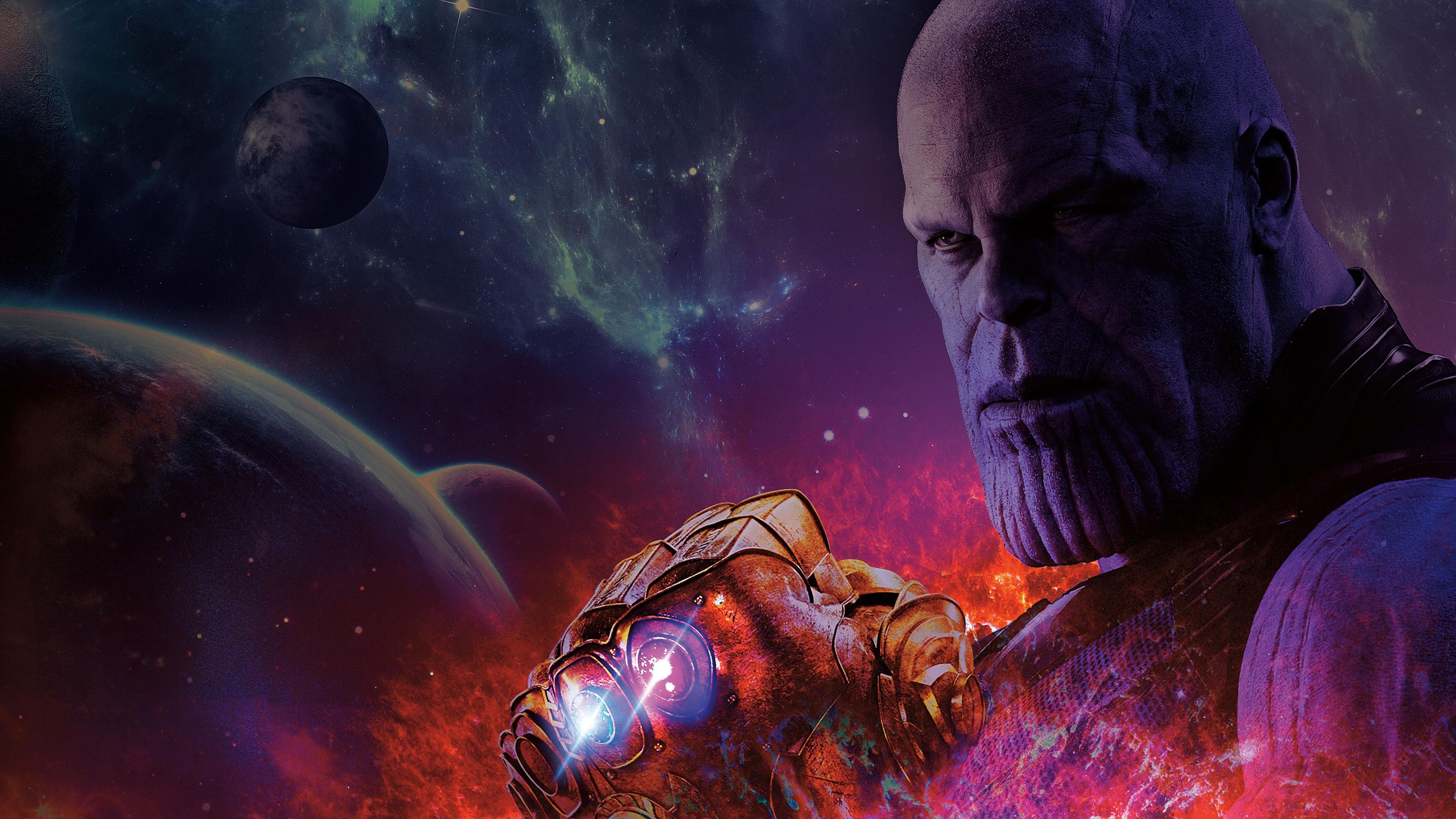 thanos avengers 4 8k 0k 3840x2160 - Avengers 4 End Game Thanos 4k - Avengers 4 thanos hd 4k wallpapers