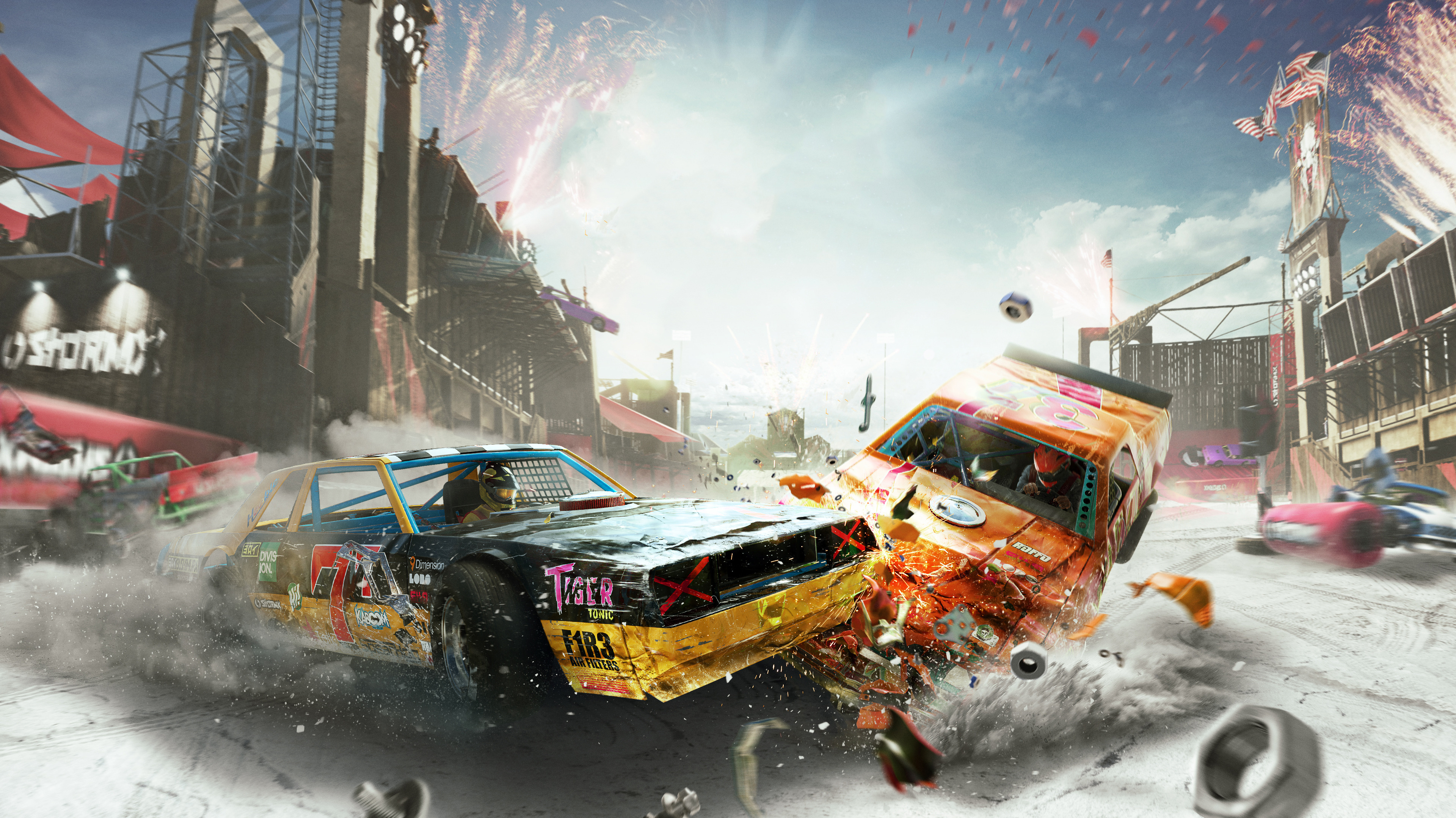 the crew 2 demolition derby 4k 1544287255 - The Crew 2 Demolition Derby 4k - xbox games wallpapers, the crew wallpapers, the crew 2 wallpapers, ps games wallpapers, pc games wallpapers, hd-wallpapers, games wallpapers, 4k-wallpapers, 2018 games wallpapers