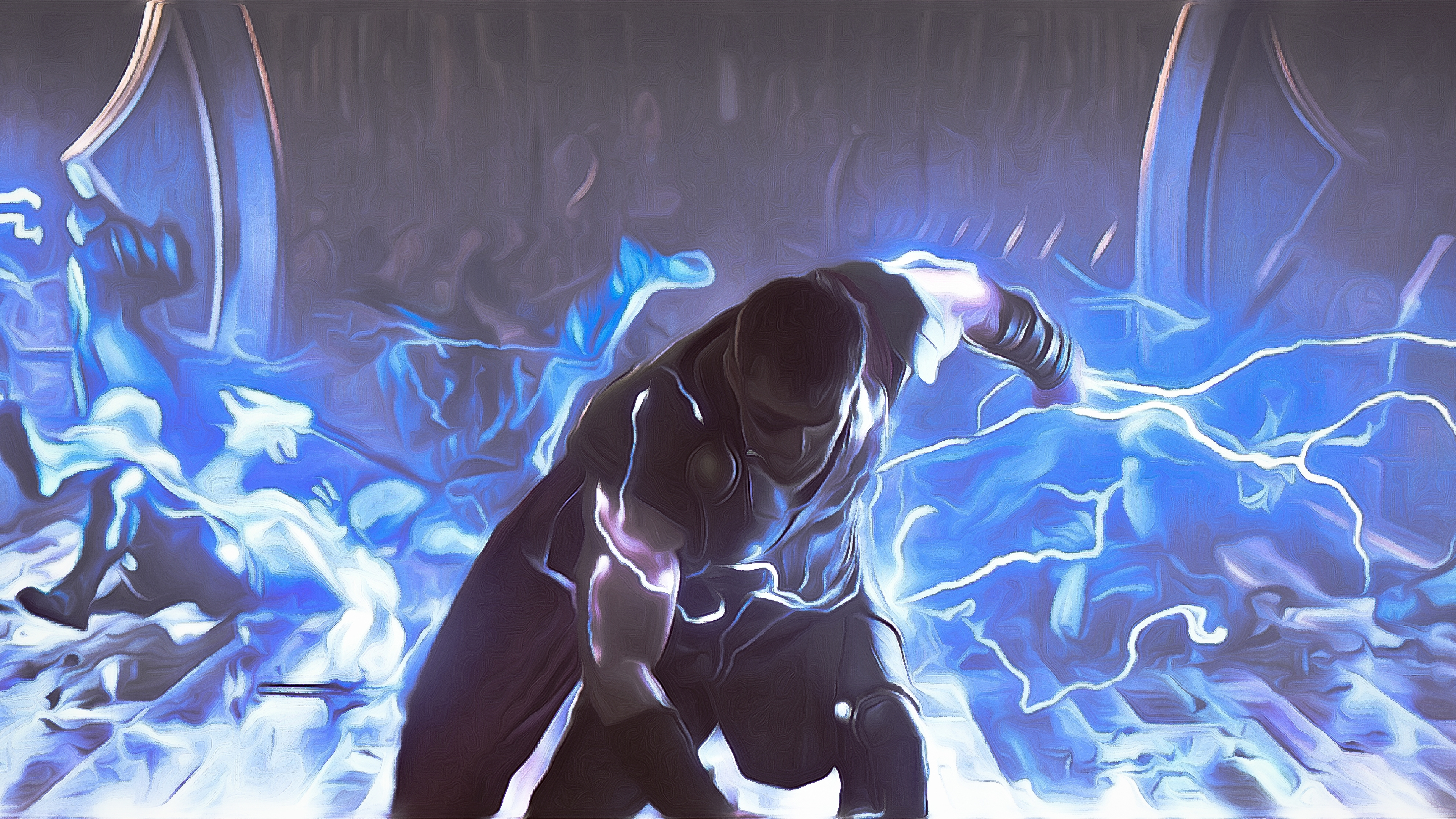 Thor God Of Thunder 4K Art thor wallpapers, thor ragnarok ...