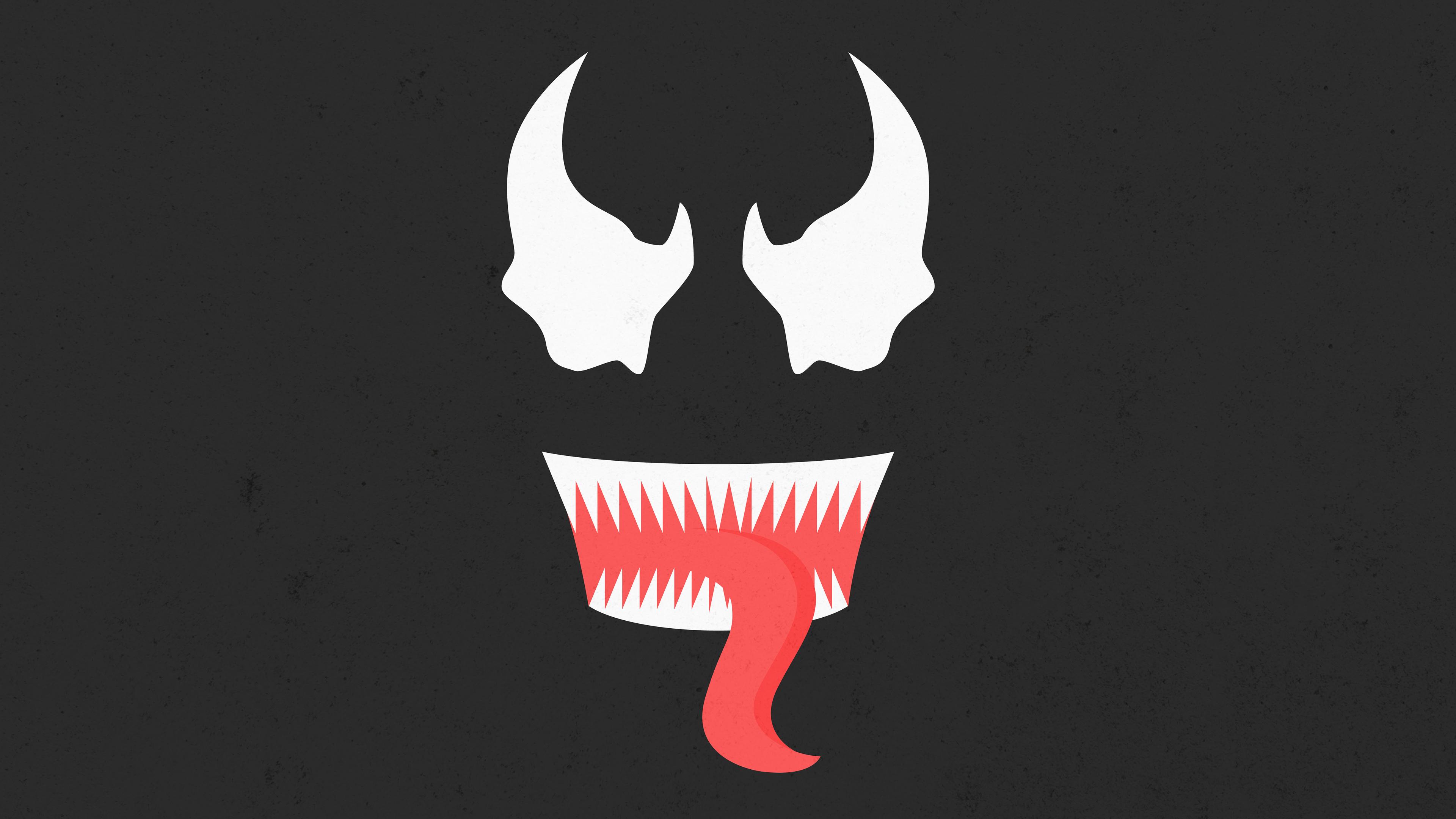 venom minimal art 4k 1545588707 - Venom Minimal Art 4k - Venom wallpapers, superheroes wallpapers, minimalist wallpapers, minimalism wallpapers, hd-wallpapers, dribbble wallpapers, digital art wallpapers, artwork wallpapers, artist wallpapers, 4k-wallpapers