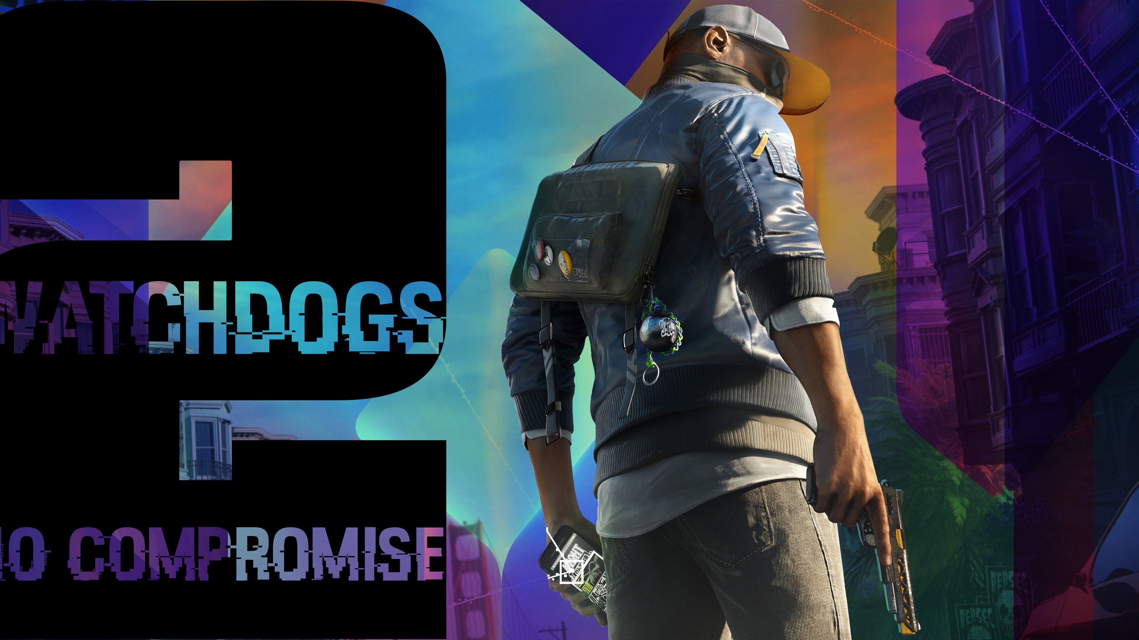 Wallpaper 4k Watch Dogs 2 No Compromise Dlc 4k 2018 Games Wallpapers