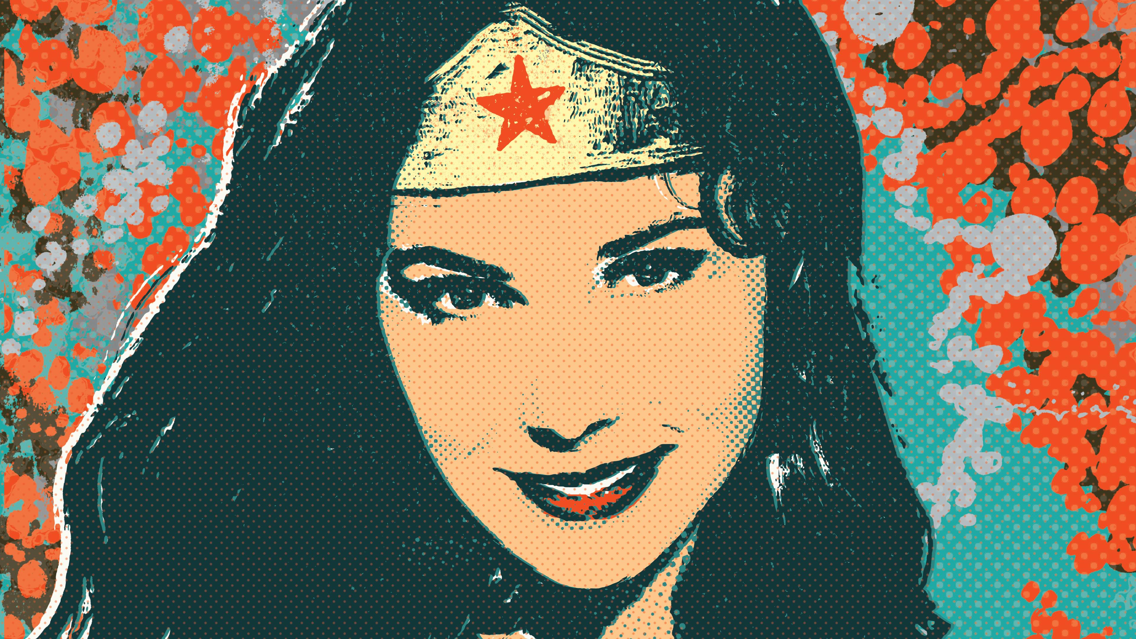 wonder woman illustration 4k 1544286760 - Wonder Woman Illustration 4k - wonder woman wallpapers, superheroes wallpapers, illustration wallpapers, hd-wallpapers, digital art wallpapers, artwork wallpapers, artist wallpapers, 4k-wallpapers