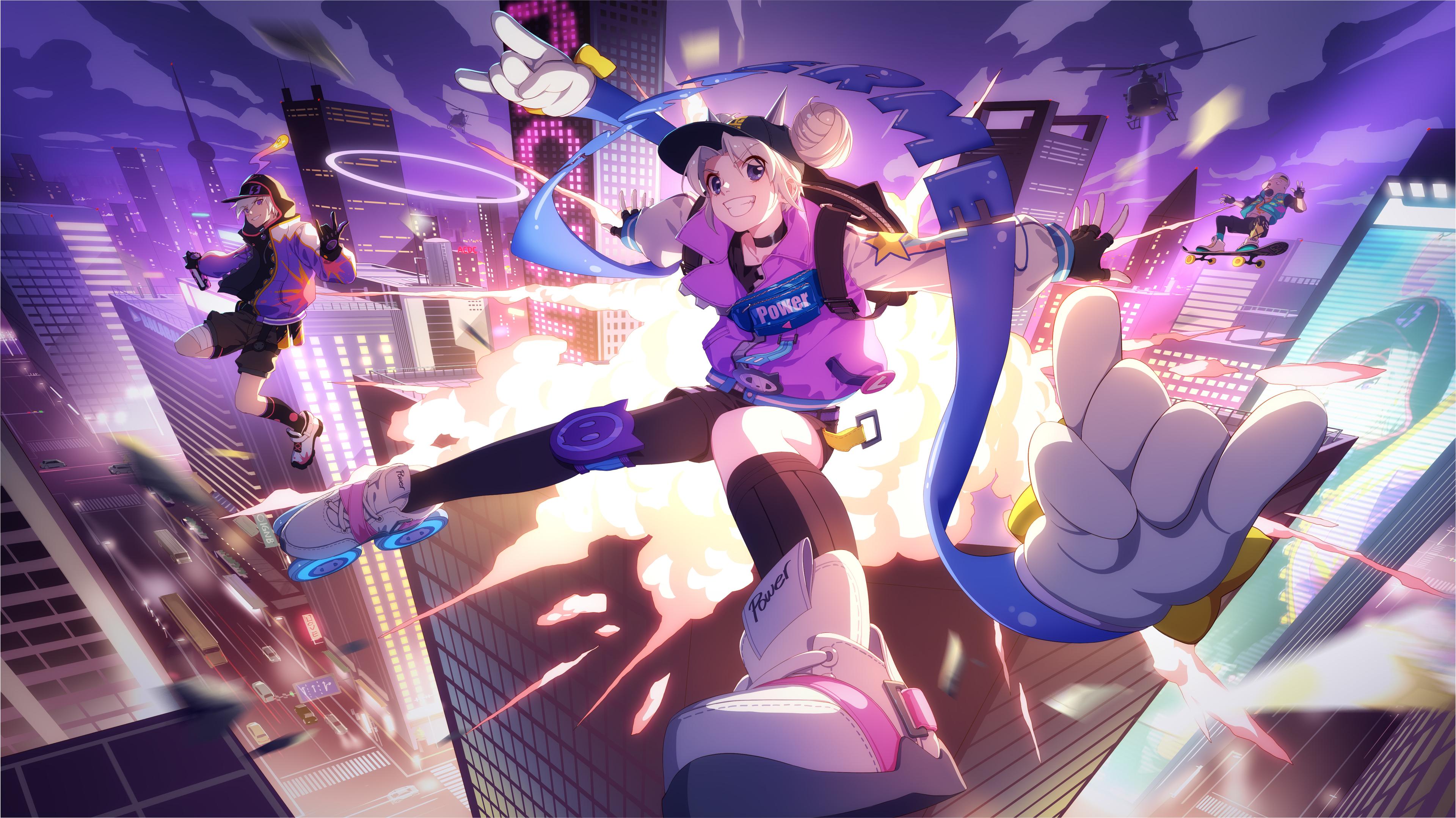 anime sneaker girl illustration 4k 1548527598 - Anime Sneaker Girl Illustration 4k - hd-wallpapers, digital art wallpapers, artwork wallpapers, artist wallpapers, anime wallpapers, anime girl wallpapers, 5k wallpapers, 4k-wallpapers