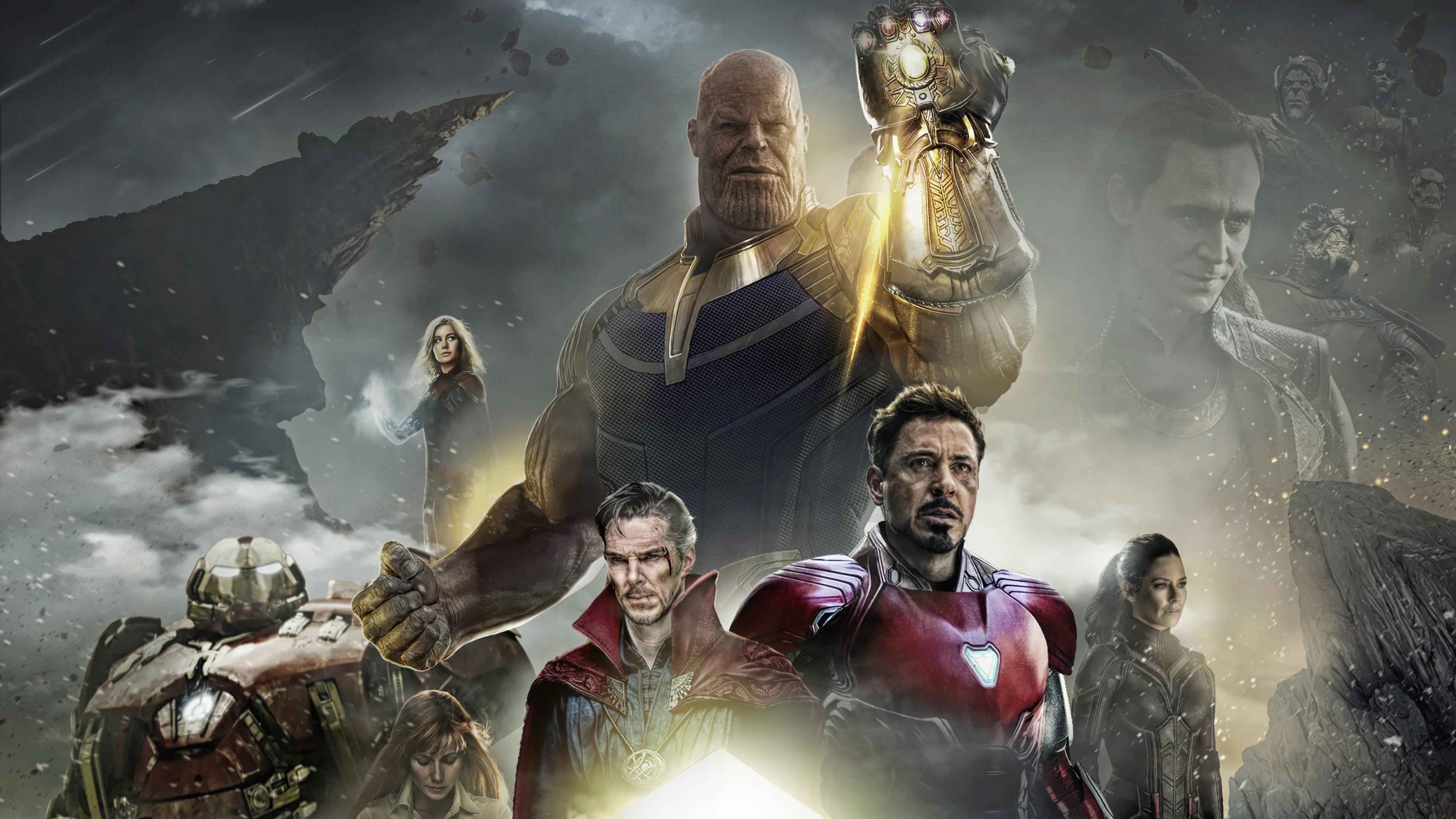 avengers infinity war thanos iron man doctor strange 4k 1547507365 - Avengers: Infinity War Thanos Iron Man Doctor Strange 4K - Thanos, Iron Man, Doctor Strange, Avengers Infinity War