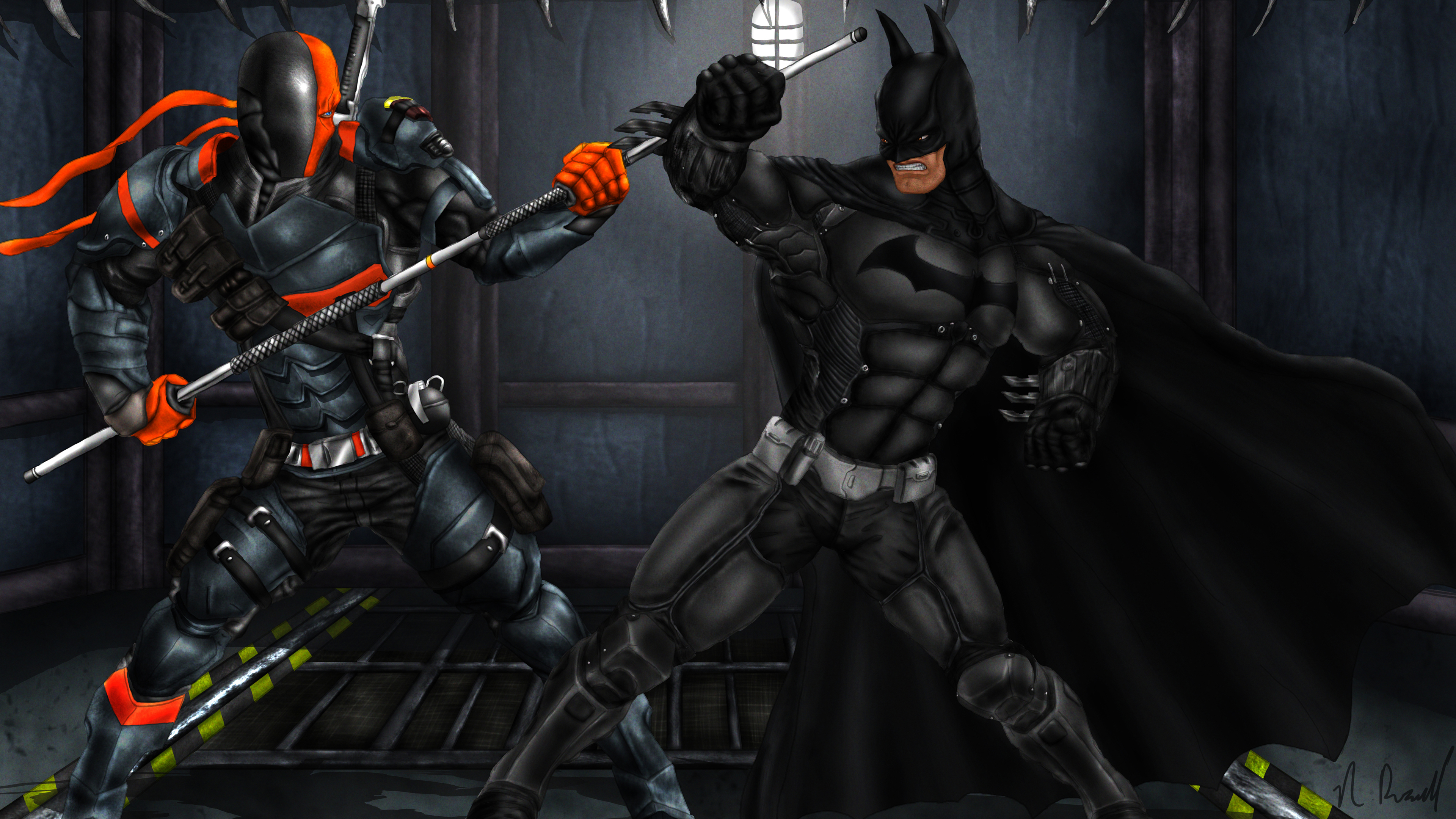 batman arkham origins deathstroke 4k art 1548526609 - Batman Arkham Origins Deathstroke 4k Art - supervillain wallpapers, superheroes wallpapers, hd-wallpapers, deviantart wallpapers, deathstroke wallpapers, batman wallpapers, artwork wallpapers, 5k wallpapers, 4k-wallpapers
