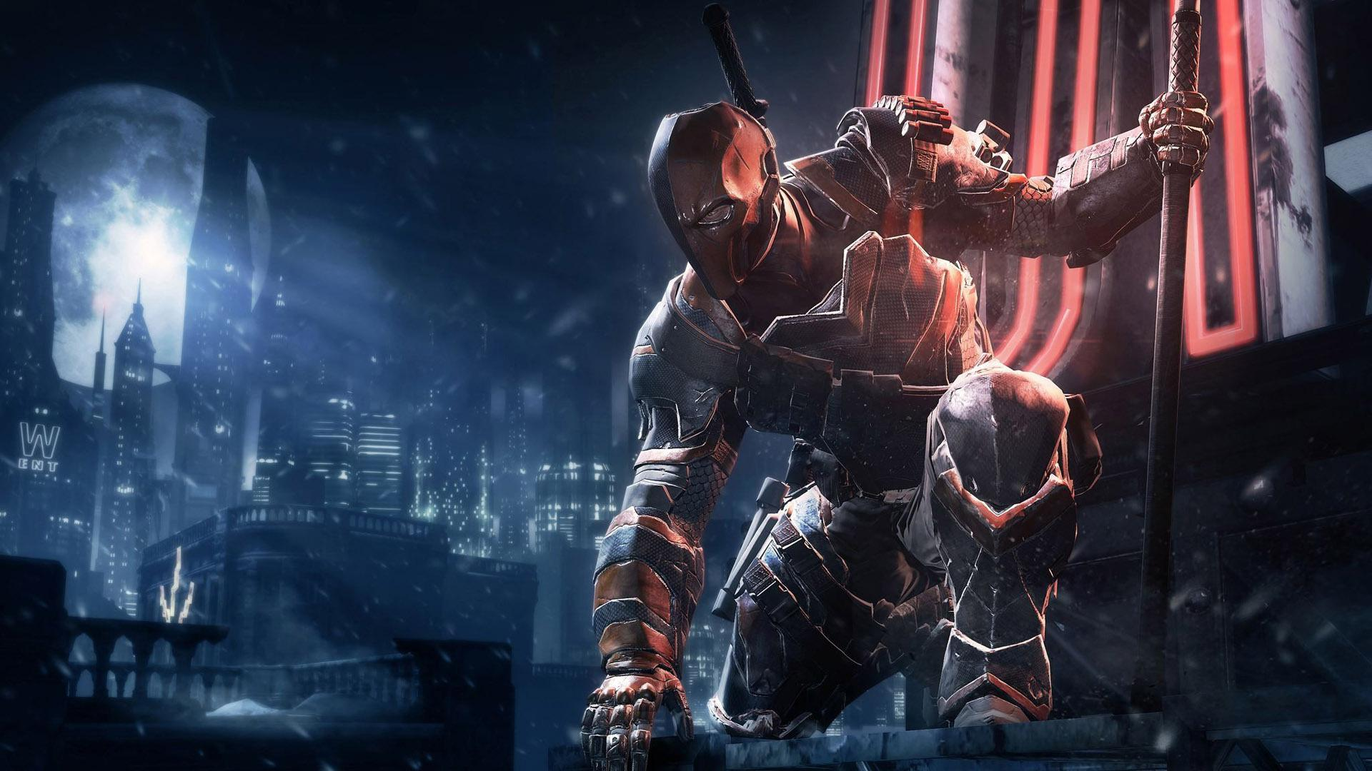 batman arkham origins deathstroke 4k 1548527390 - Batman Arkham Origins Deathstroke 4k - hd-wallpapers, games wallpapers, deathstroke wallpapers, batman arkham origins wallpapers