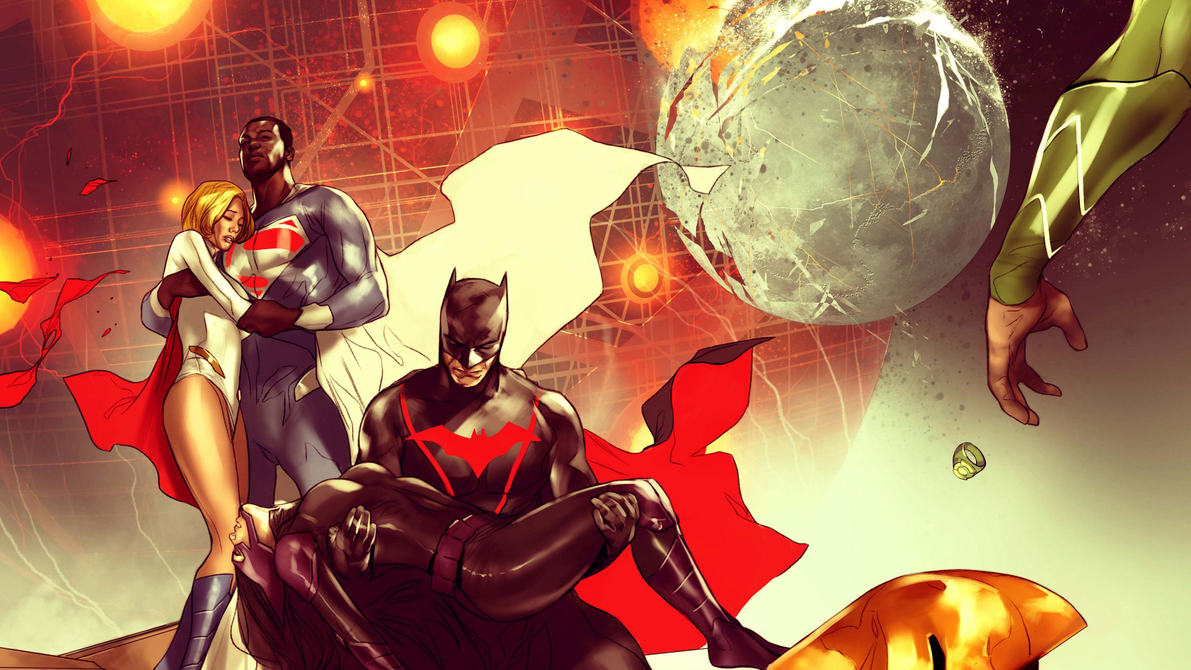 batman two world ends 4k 1547936372 - Batman Two World Ends 4k - superheroes wallpapers, hd-wallpapers, digital art wallpapers, batman wallpapers, artwork wallpapers, 4k-wallpapers