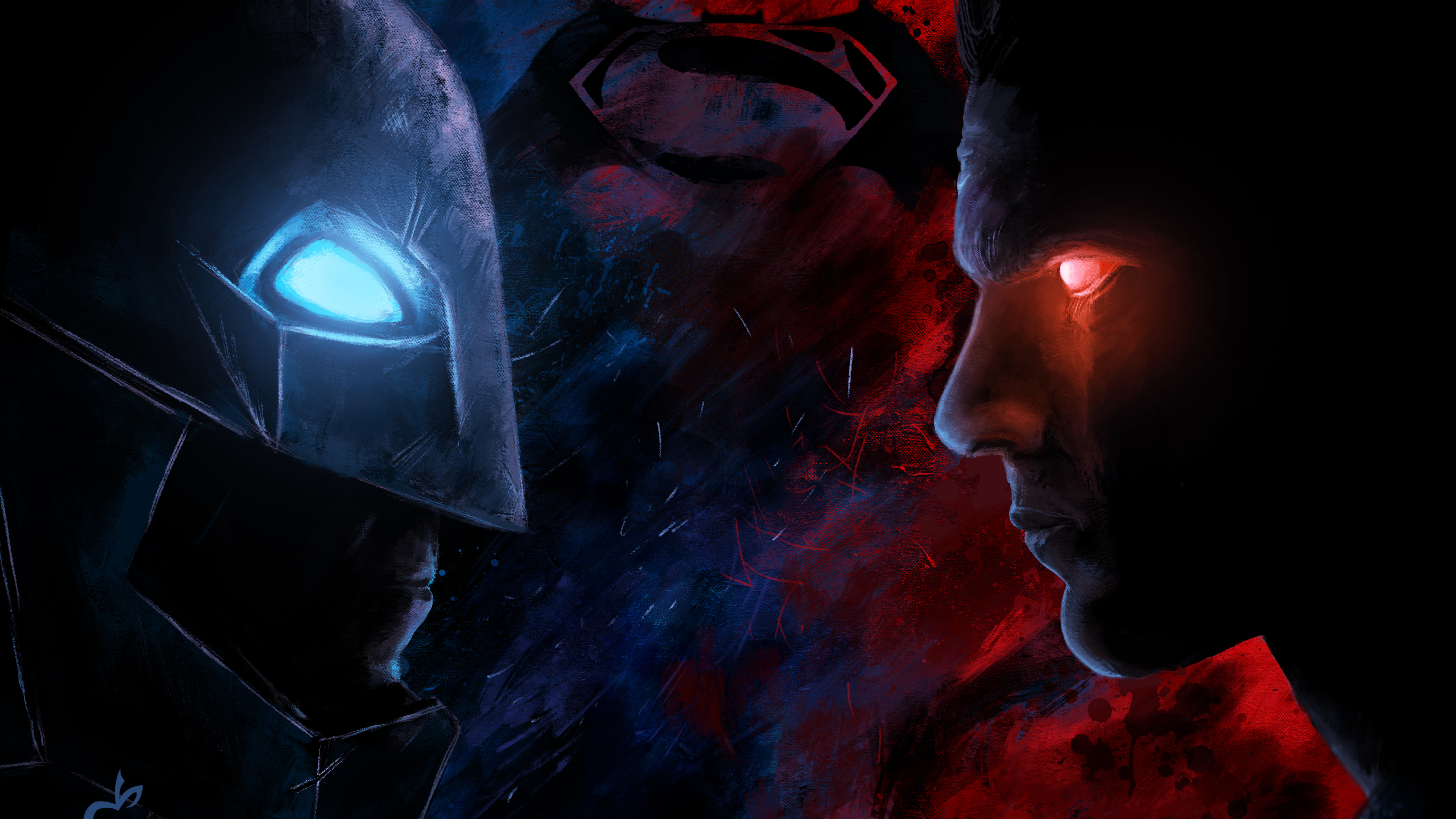 batman vs superman paint artwork 4k 1547506400 - Batman Vs Superman Paint Artwork 4k - superman wallpapers, superheroes wallpapers, hd-wallpapers, digital art wallpapers, batman wallpapers, artwork wallpapers, artist wallpapers, 5k wallpapers, 4k-wallpapers
