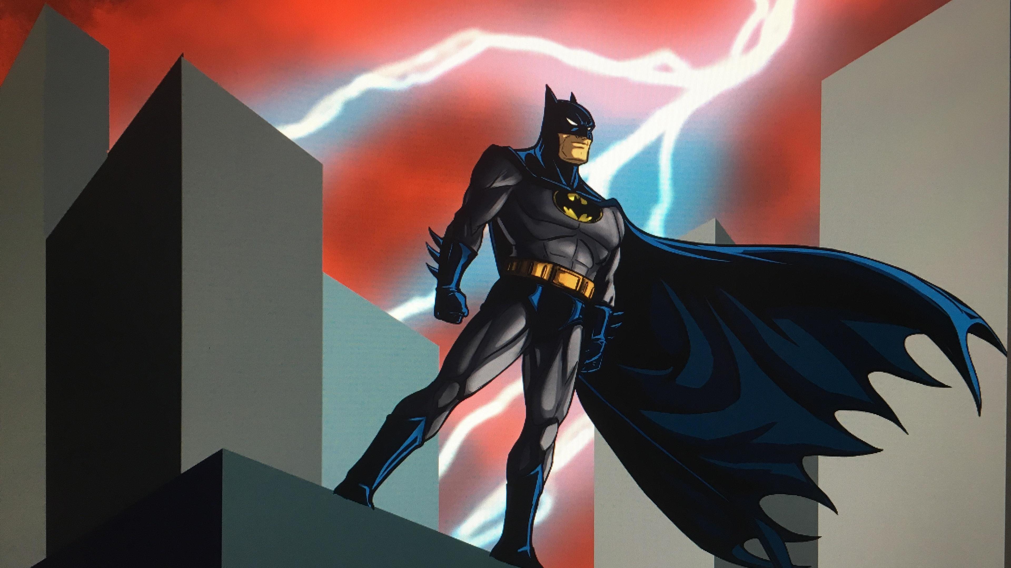 batman watching city 4k 1547936479 - Batman Watching City 4k - superheroes wallpapers, hd-wallpapers, digital art wallpapers, batman wallpapers, artwork wallpapers