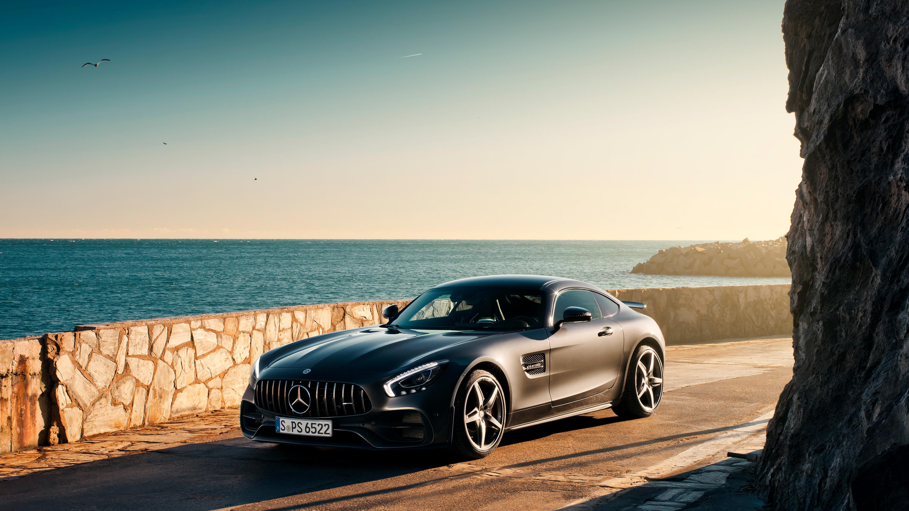 black mercedes benz amg gt 4k 1547937415 - Black Mercedes Benz Amg GT 4k - mercedes wallpapers, mercedes amg gt wallpapers, hd-wallpapers, cars wallpapers, 4k-wallpapers, 2019 cars wallpapers
