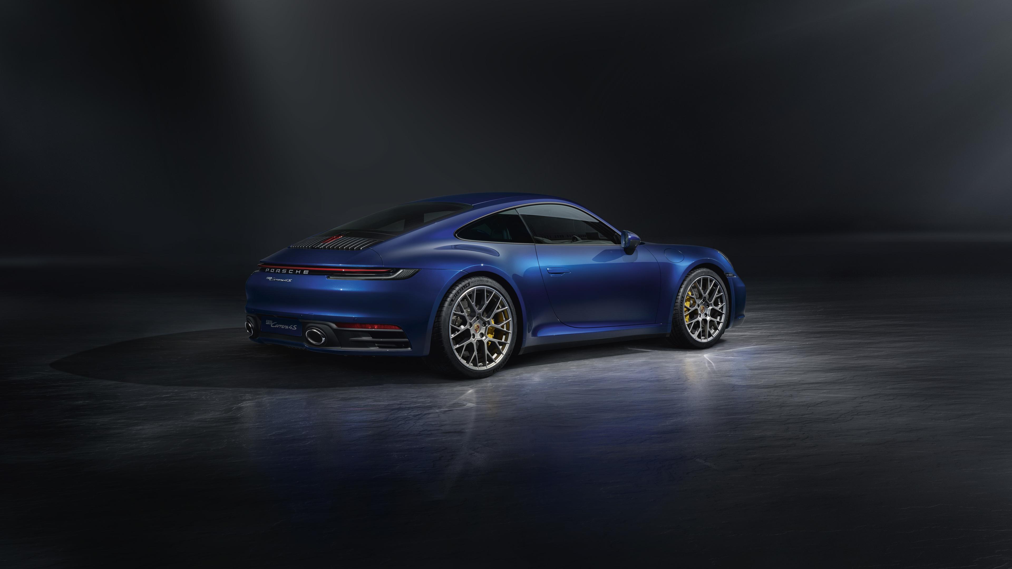 blue porsche 911 rear 4k 1546362092 - Blue Porsche 911 Rear 4k - porsche wallpapers, porsche 911 wallpapers, hd-wallpapers, cars wallpapers, 5k wallpapers, 4k-wallpapers