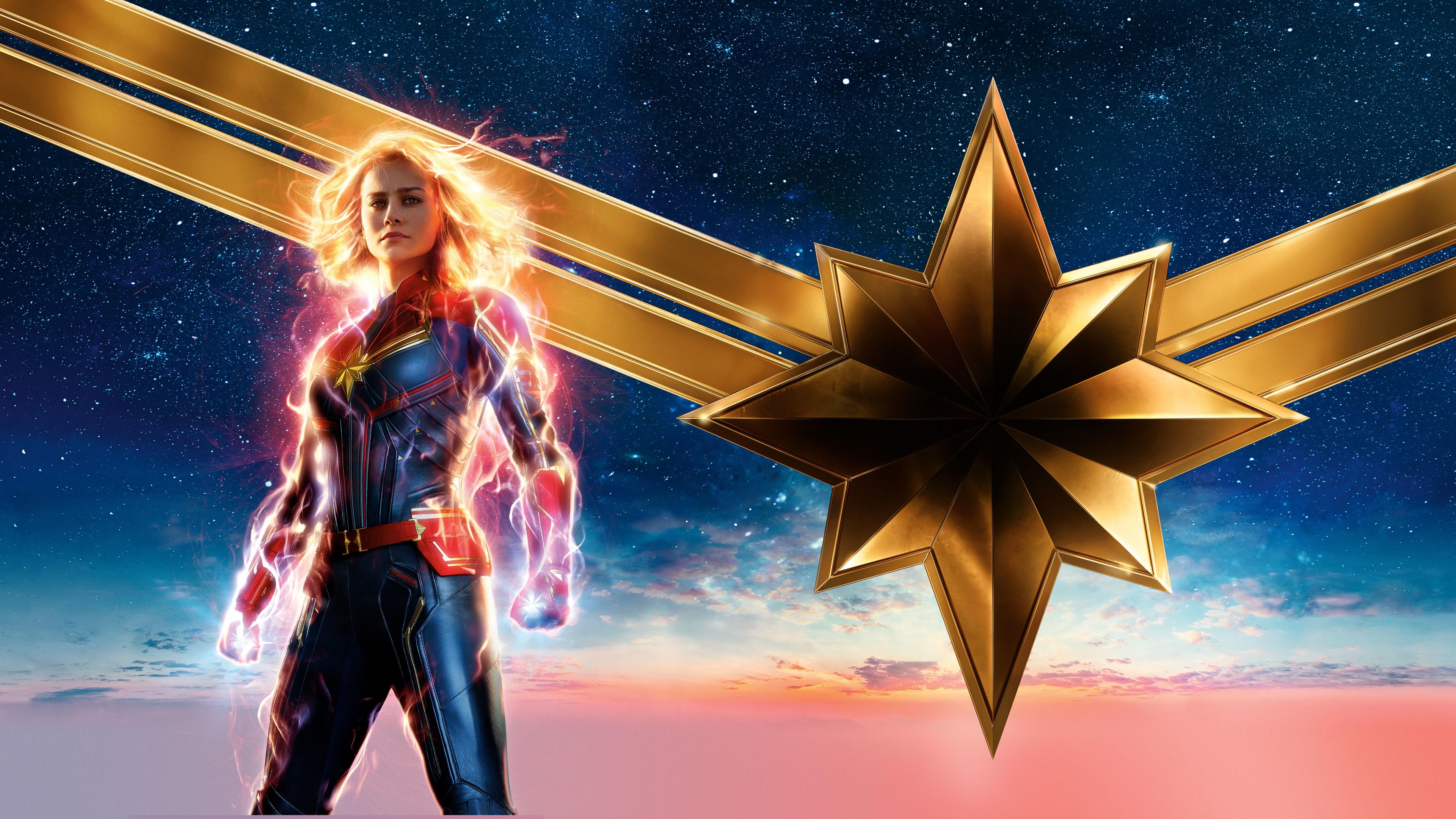 Wallpaper 4k Captain Marvel Movie 2019 4k 10k Wallpapers