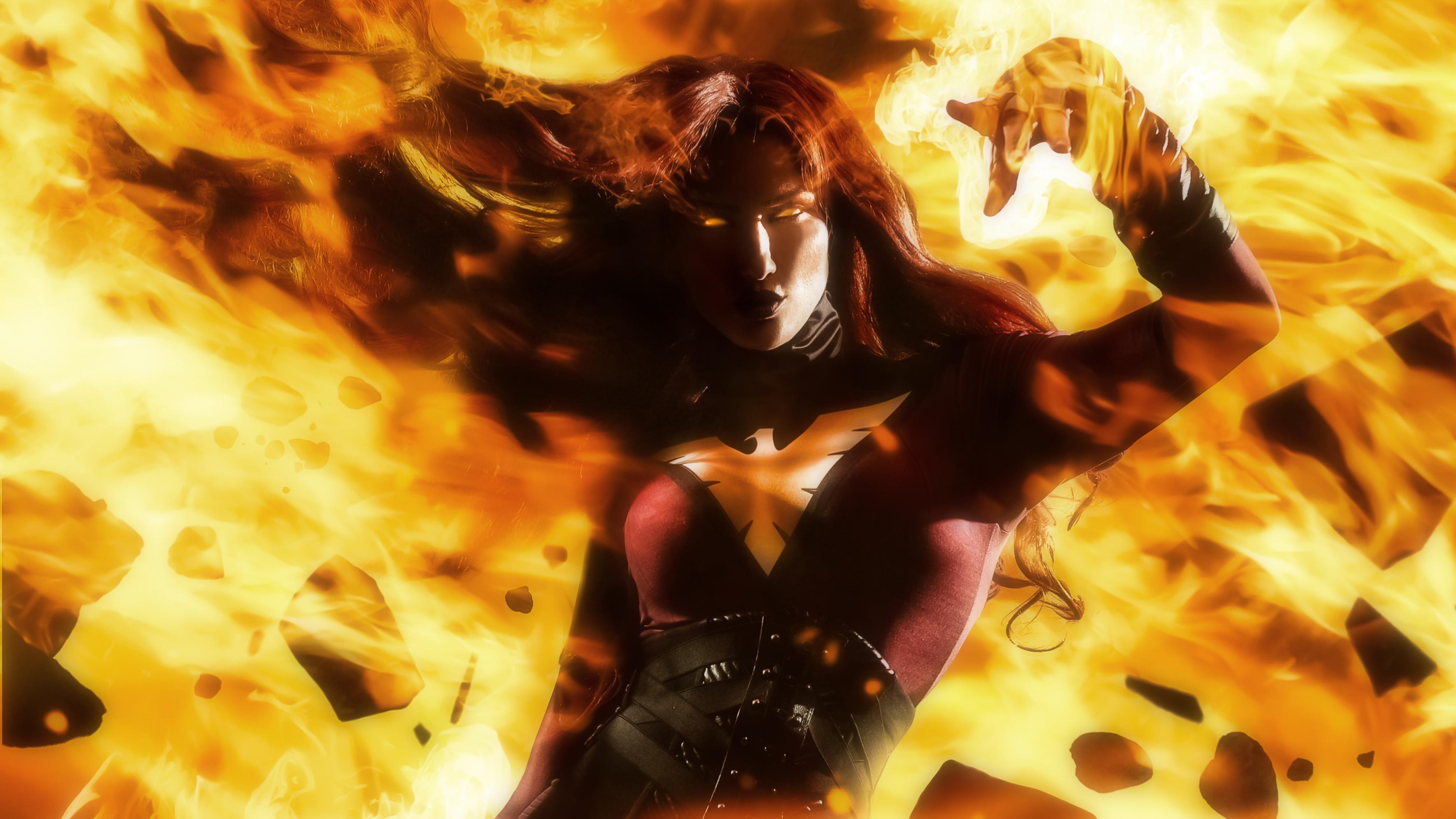 dark phoenix cosplay 4k 1547506947 - Dark Phoenix Cosplay 4k - x men dark phoenix wallpapers, superheroes wallpapers, hd-wallpapers, digital art wallpapers, dark phoenix wallpapers, cosplay wallpapers, behance wallpapers, artwork wallpapers, 4k-wallpapers