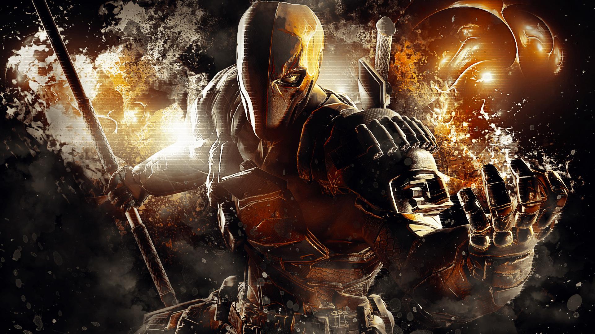 death stroke 4k 1548527398 - Death Stroke 4k - games wallpapers, fictional character wallpapers, deathstroke wallpapers