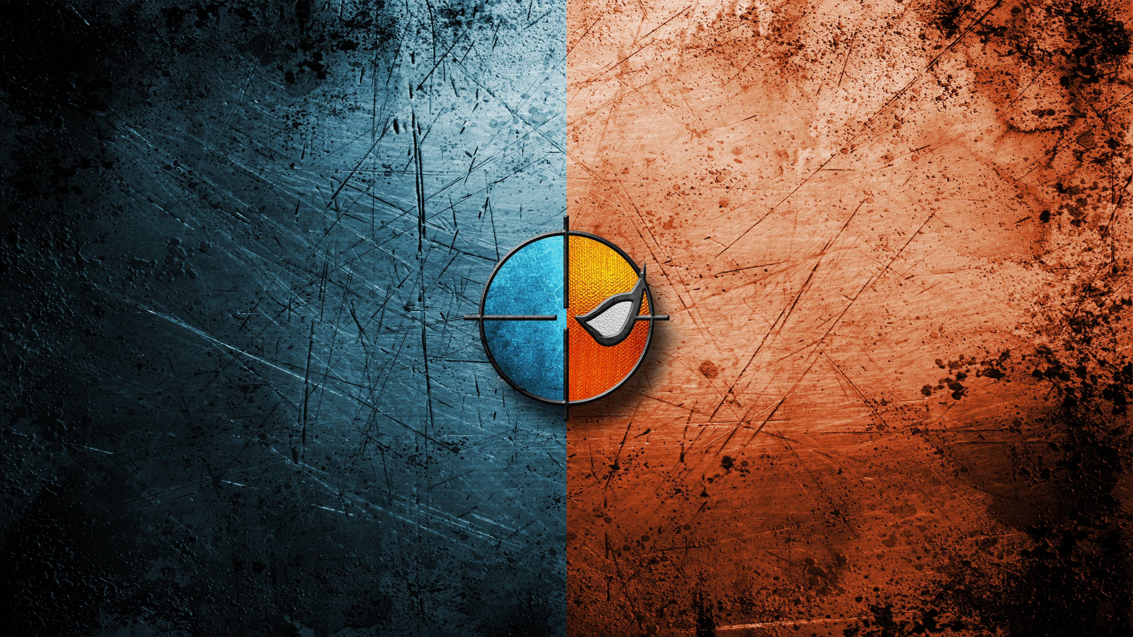 deathstroke minimalism 4k 1548527388 - Deathstroke Minimalism 4k - superheroes wallpapers, logo wallpapers, hd-wallpapers, deathstroke wallpapers, background wallpapers, 4k-wallpapers