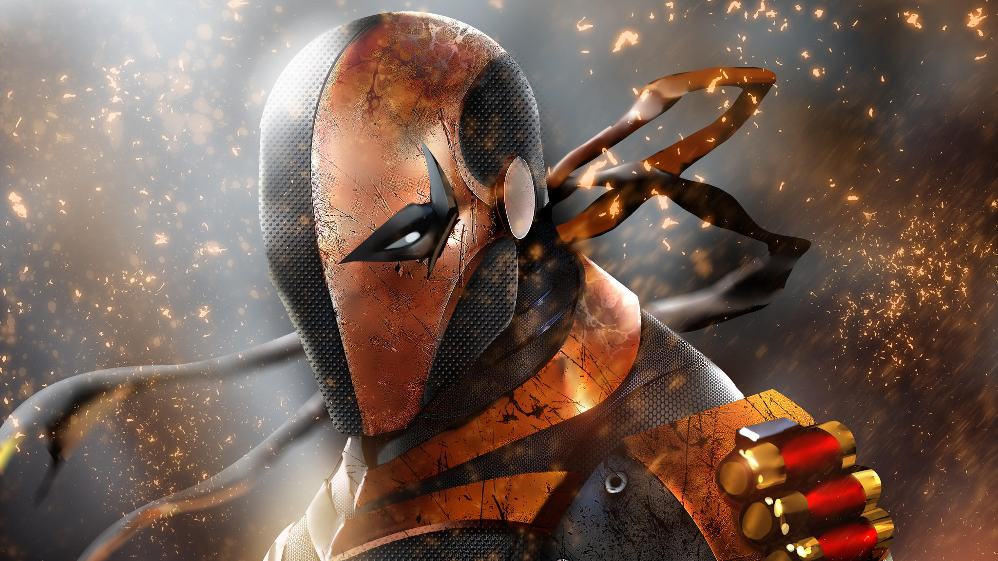 deathstroke new arts 4k 1548527211 - Deathstroke New Arts 4k - supervillain wallpapers, superheroes wallpapers, hd-wallpapers, digital art wallpapers, deviantart wallpapers, deathstroke wallpapers, artwork wallpapers